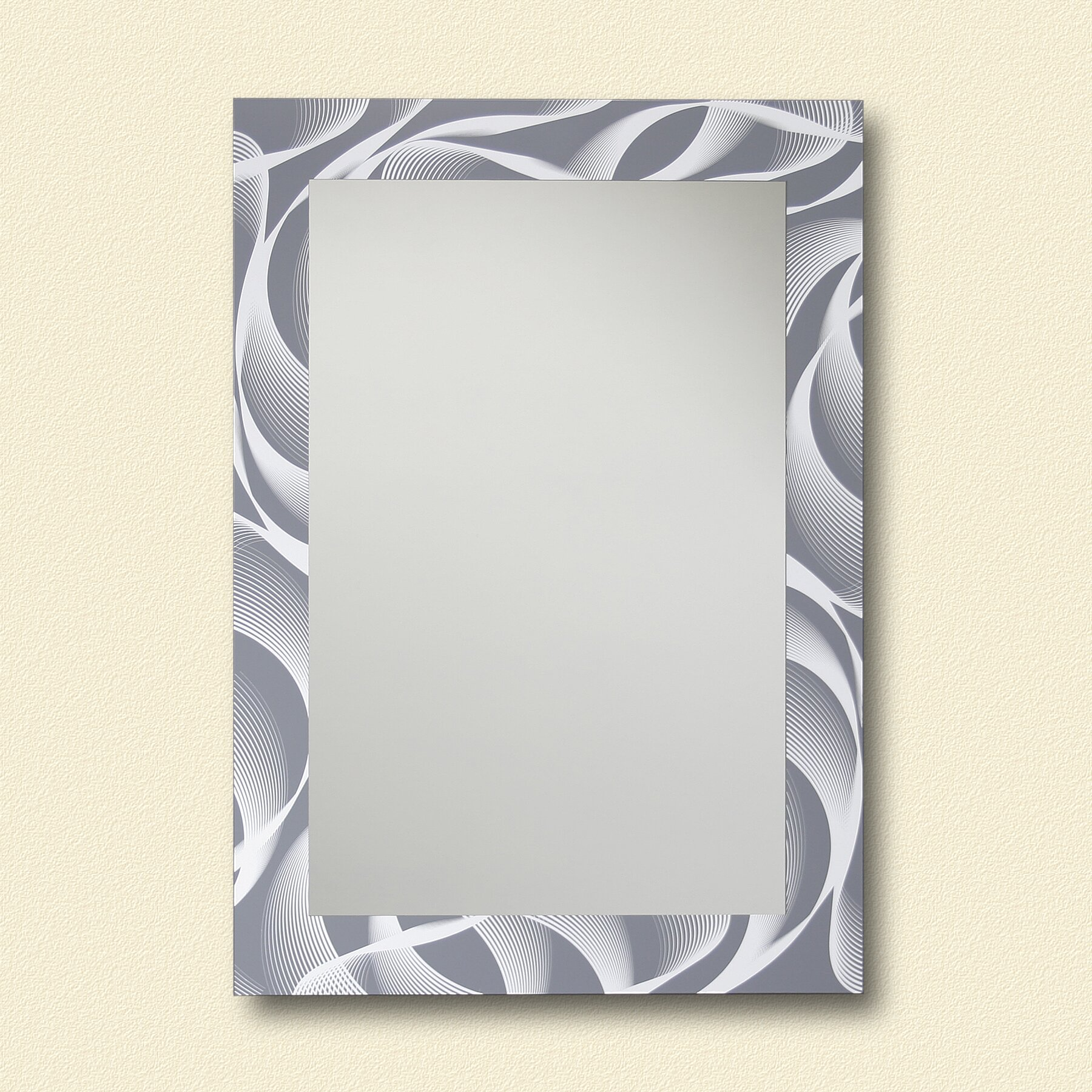 Leick ReflectU Swirl Decorative Wall Mirror & Reviews ...