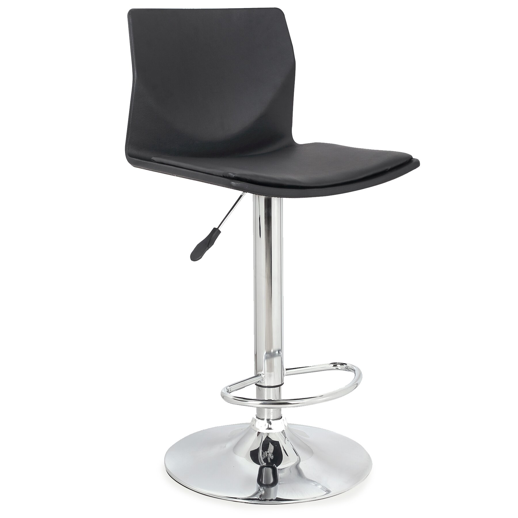 Leick Adjustable Height Swivel Bar Stool Wayfair