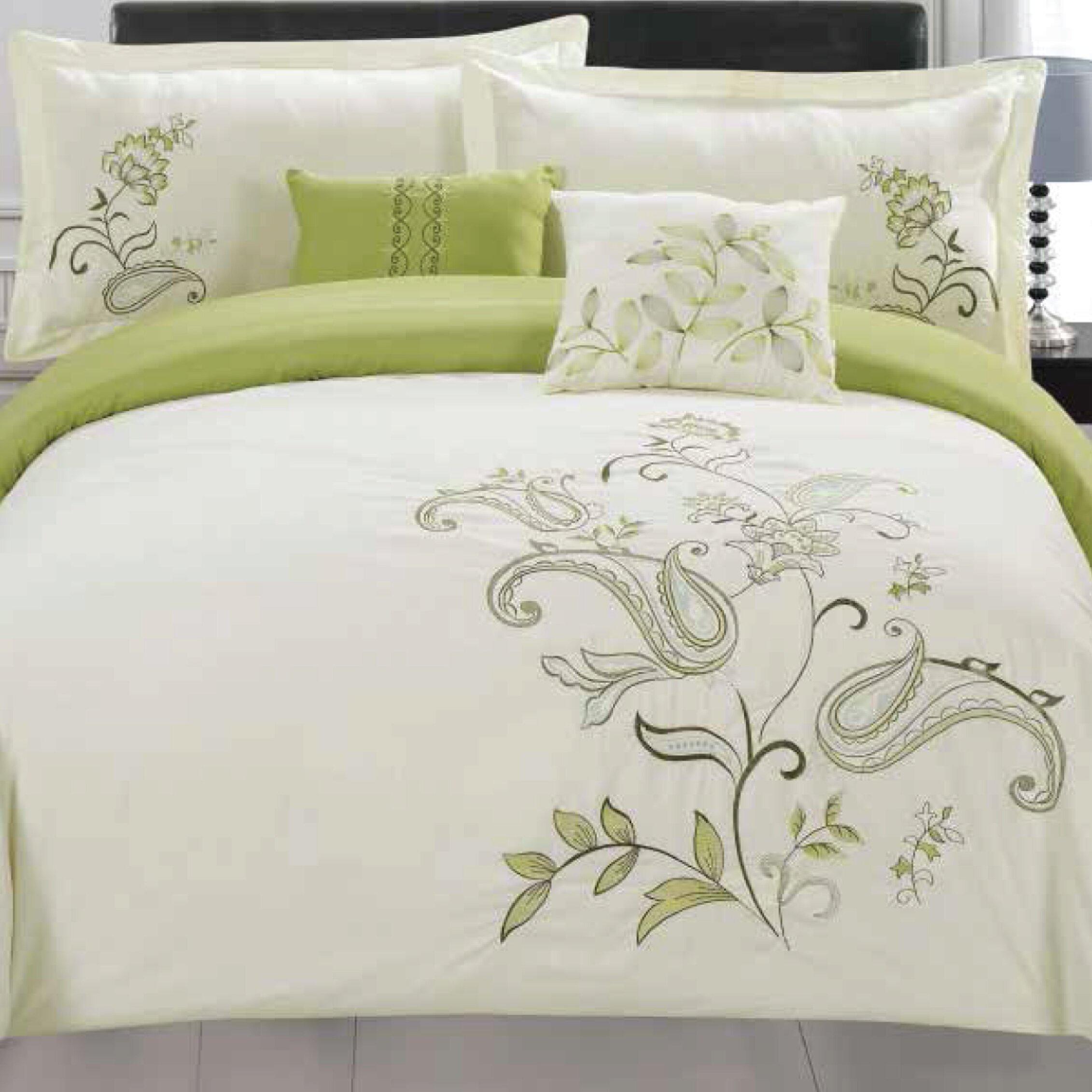 Jordan Furniture Mattress Sale RT Designer's Collection Jordana 5 Piece Comforter Set ...