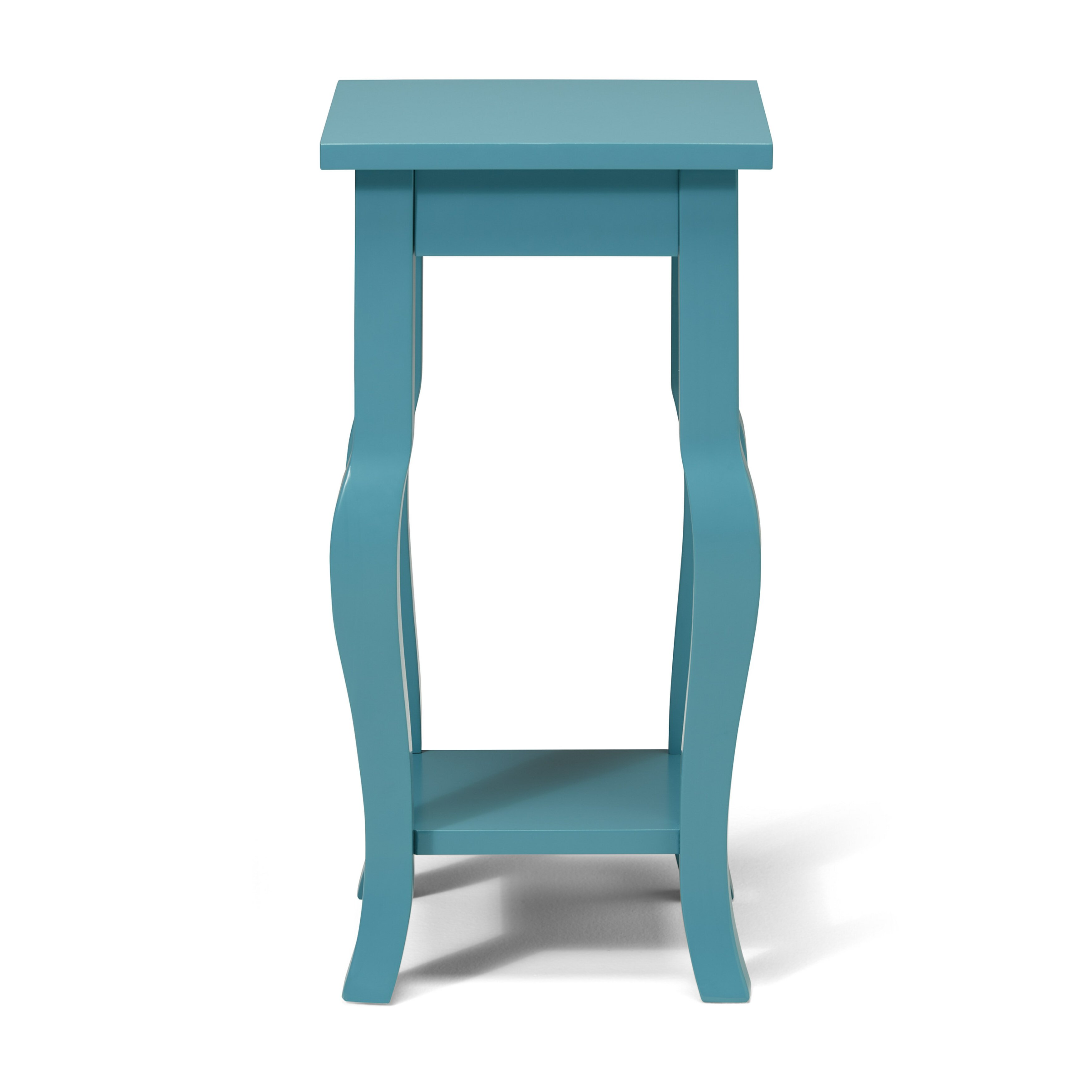 Kate and laurel lillian wood pedestal end table reviews for 12 wide table