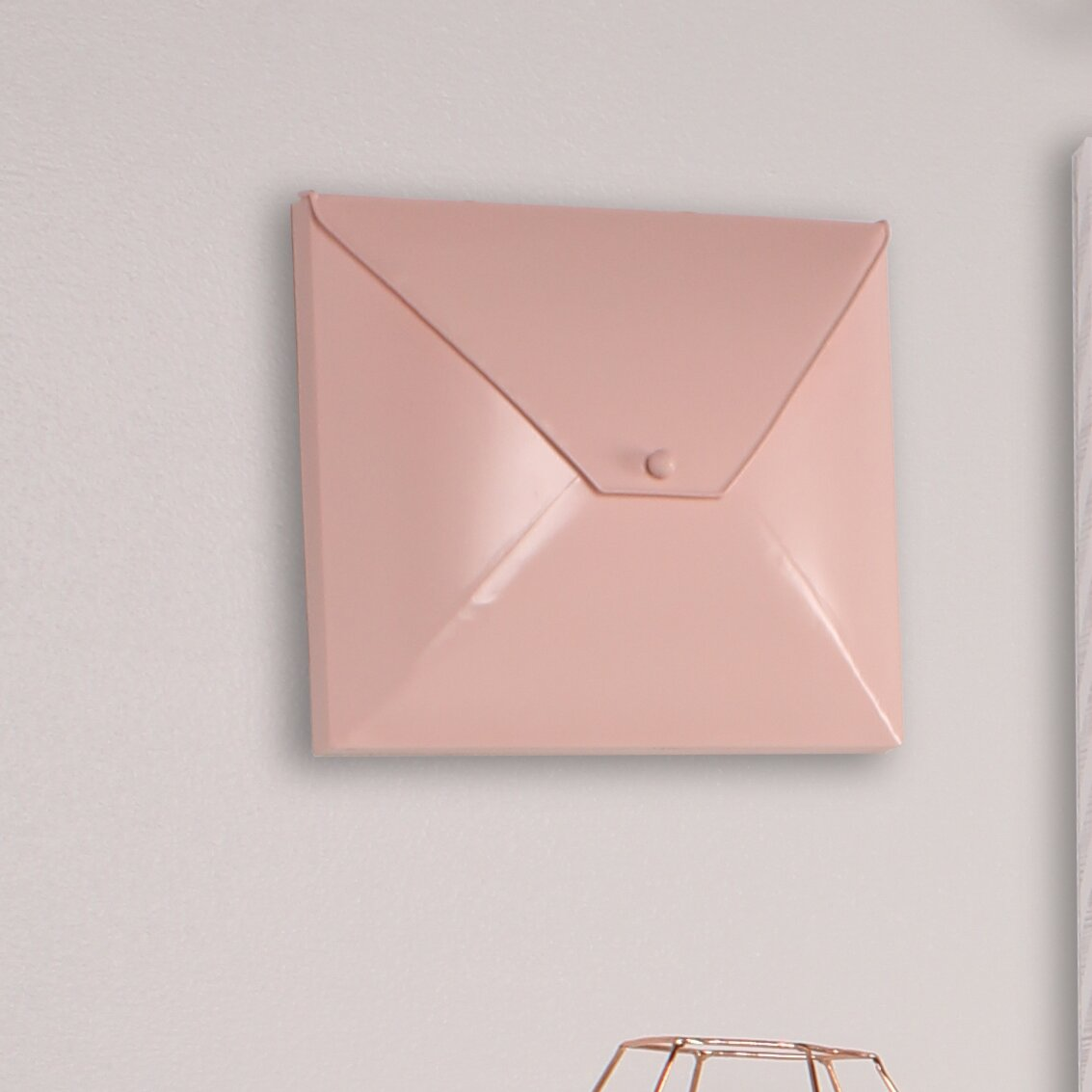 Metal Envelope Wall Decor : Kate and laurel envelope decorative metal wall d?cor wayfair