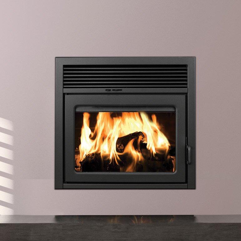 Supreme Fireplaces Inc Galaxy Zero Clearance Semi Classic Fireplace Wayfair
