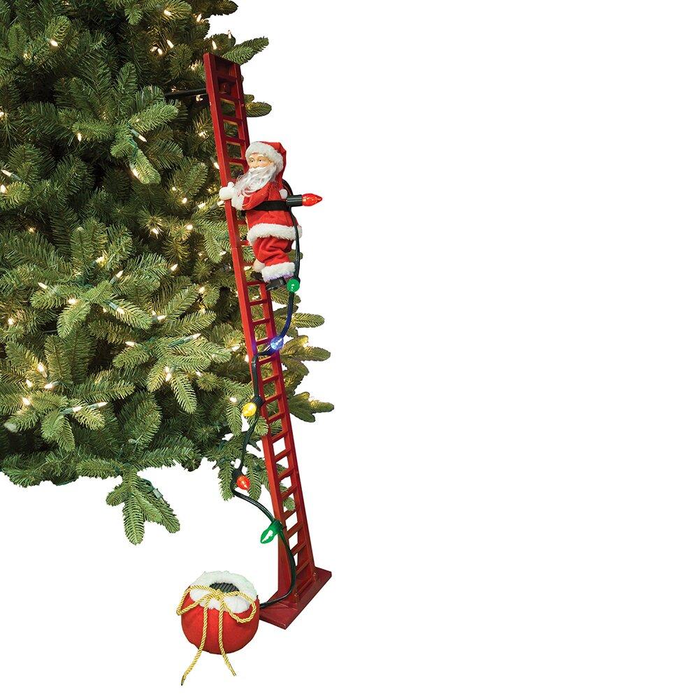 Mrchristmas Super Climbing Santa Amp Reviews Wayfair Ca