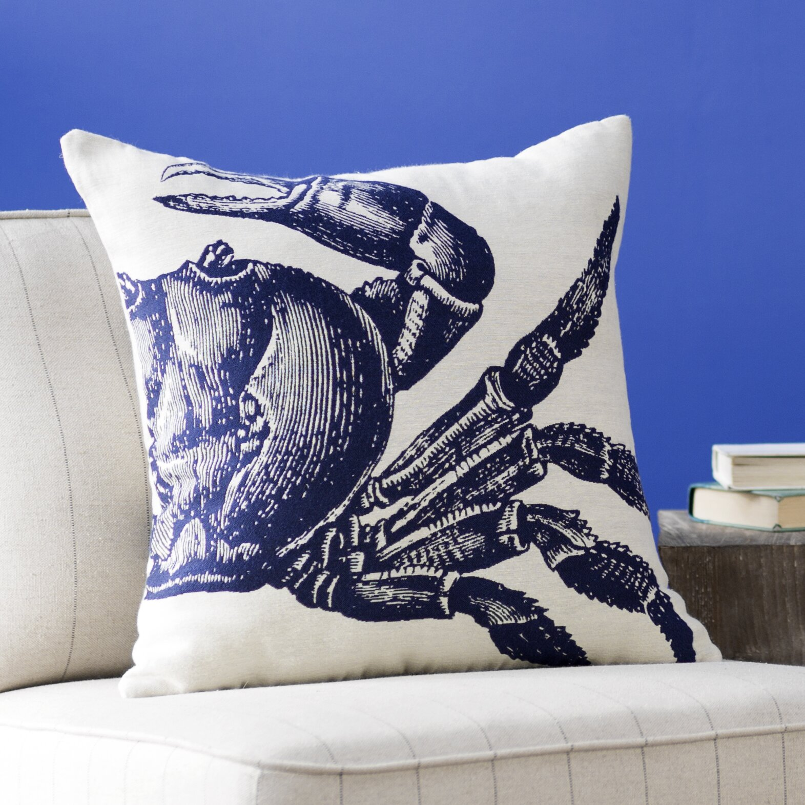 Throw Pillows The Bay : Breakwater Bay Pembrey Sea Crab Throw Pillow & Reviews Wayfair