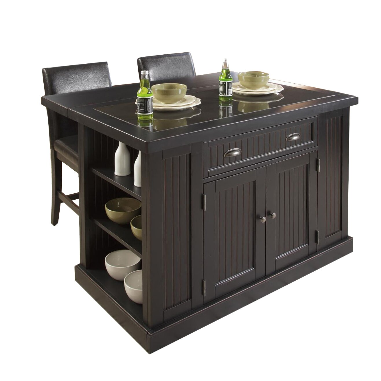 Piece Kitchen Island Set