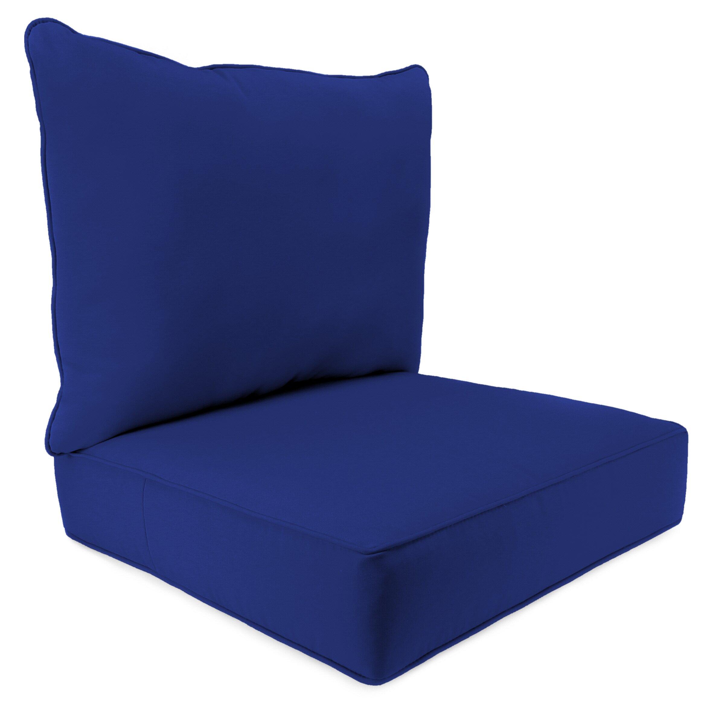 Breakwater Bay 2 Piece Indoor Outdoor Chair Cushion Set
