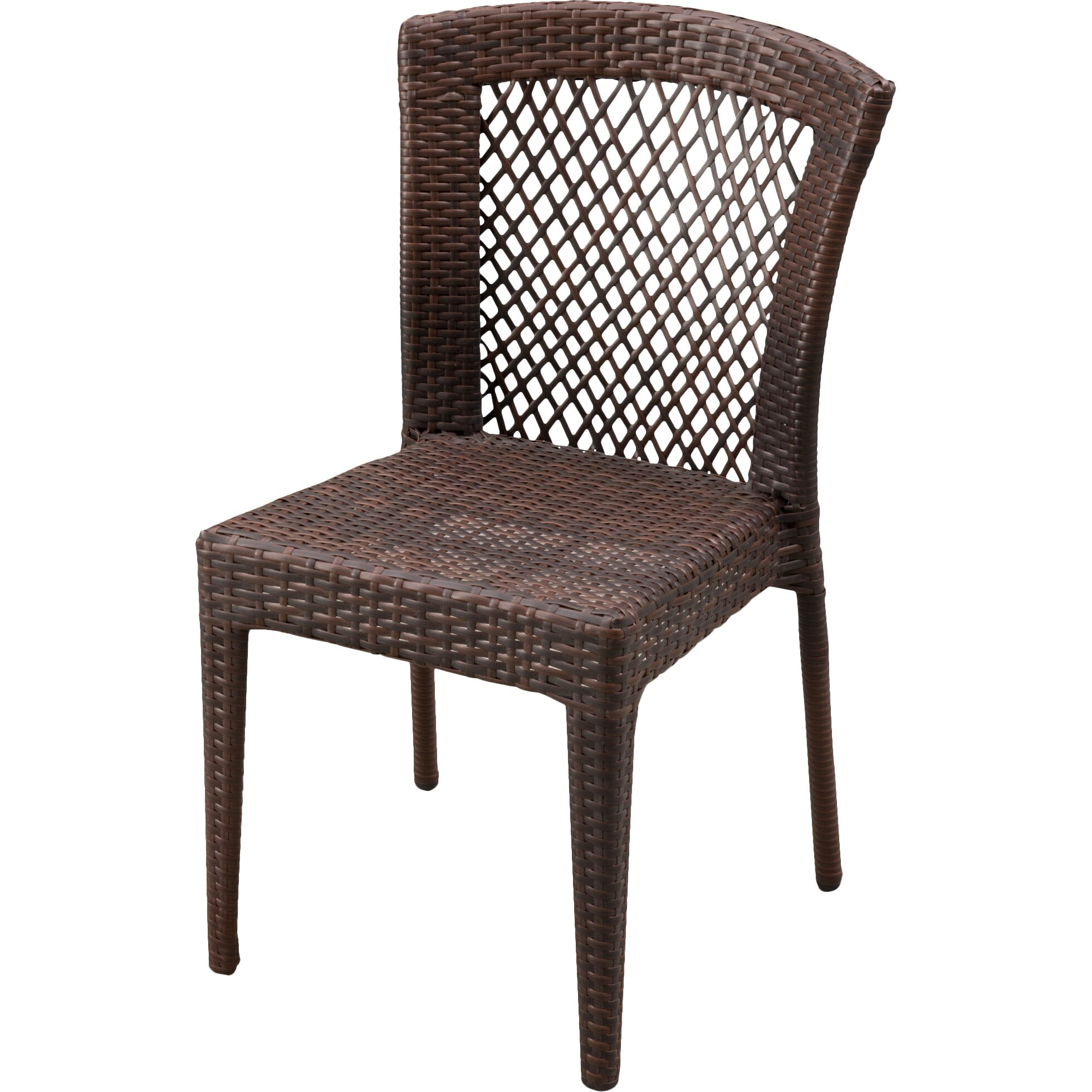 Breakwater bay dawson outdoor wicker chair reviews wayfair for Outdoor wicker furniture
