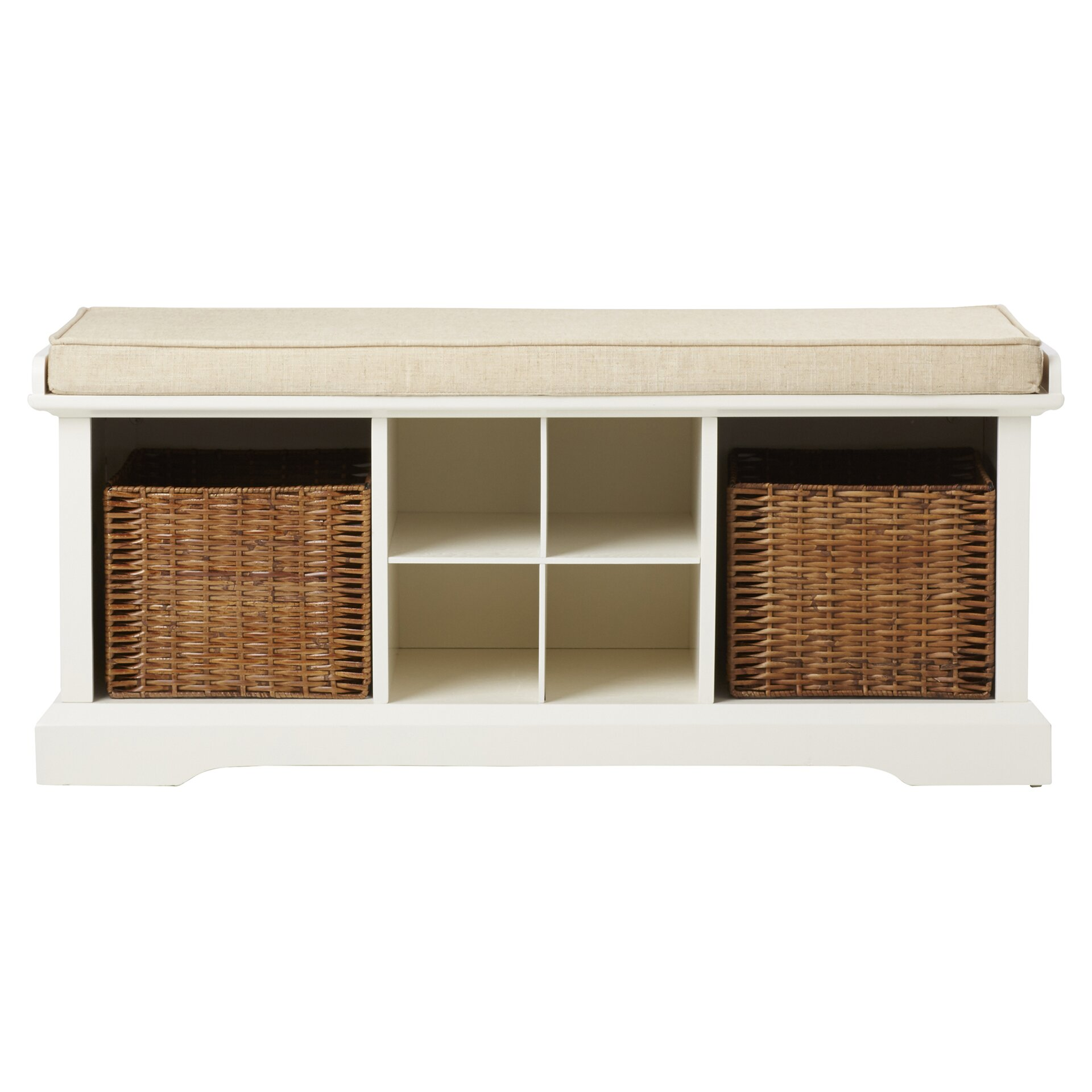 Foyer Mudroom Review : Breakwater bay selbyville storage entryway bench reviews