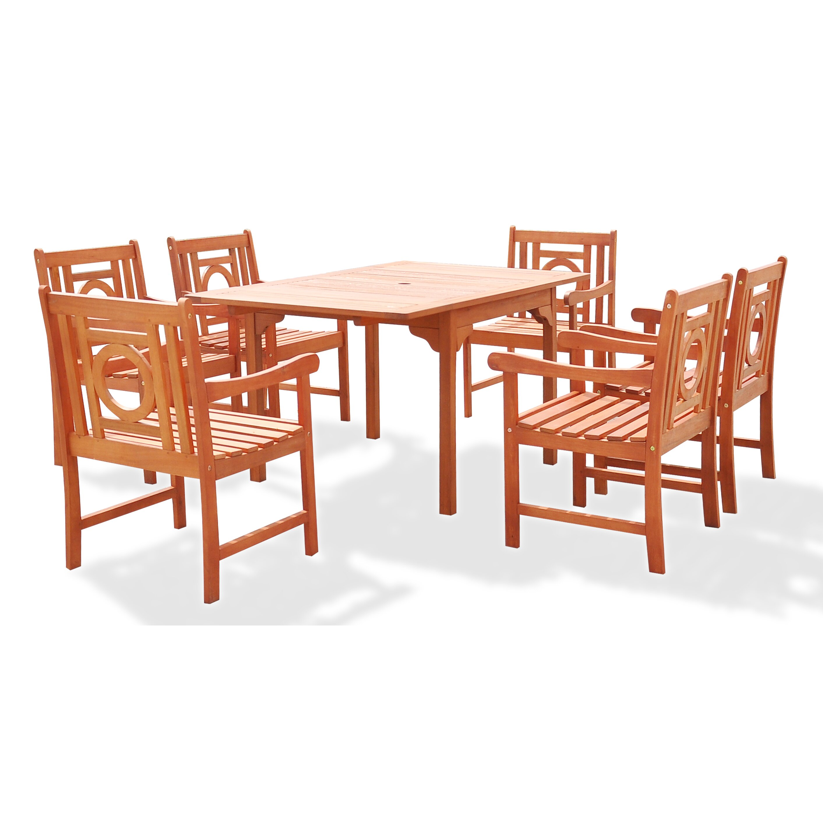Breakwater bay blythe 7 piece dining set wayfair for 7 piece dining set