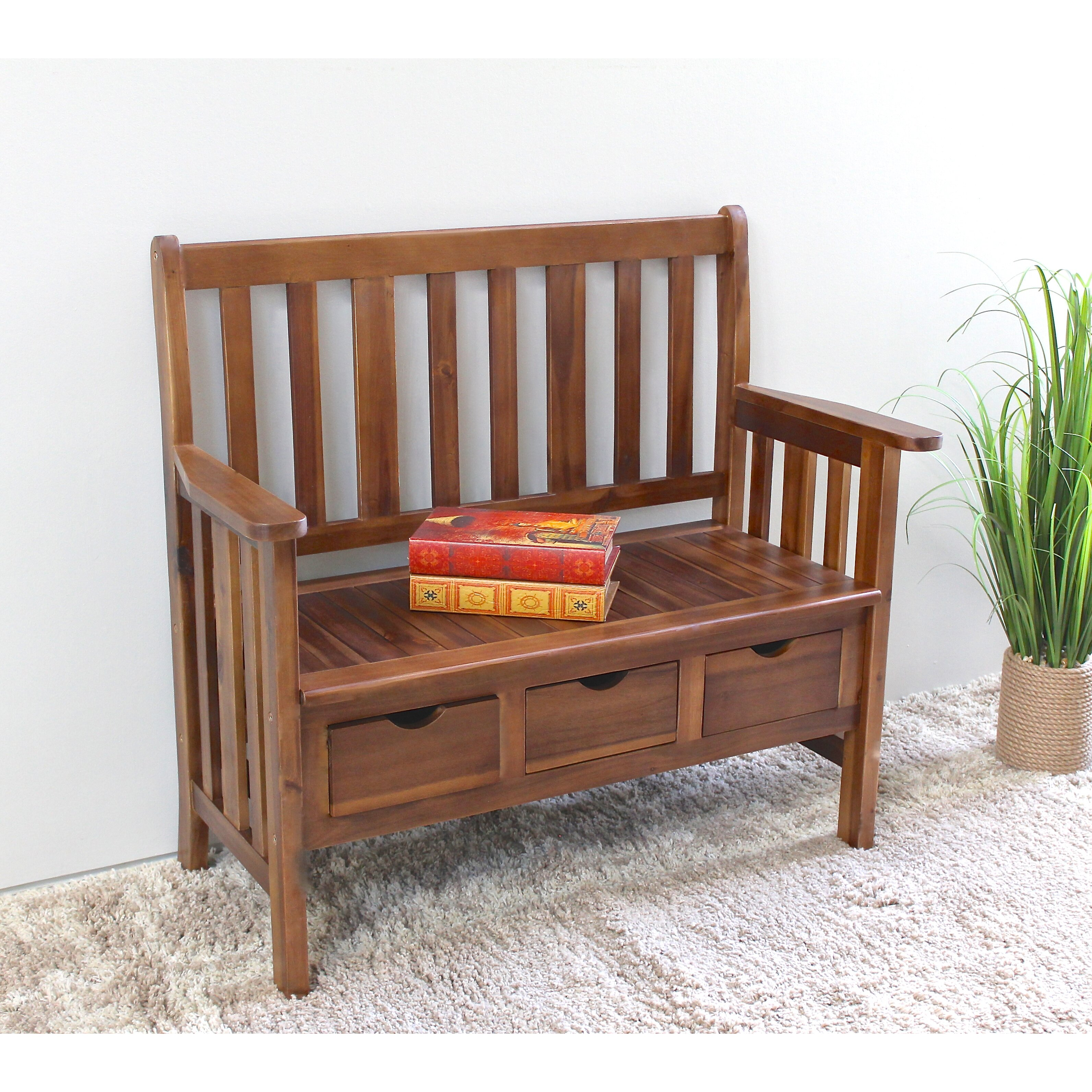 #A83323 Breakwater Bay Corbin Acacia Wood Storage Bench & Reviews Wayfair with 3184x3184 px of Brand New Wood Storage Benches 31843184 pic @ avoidforclosure.info