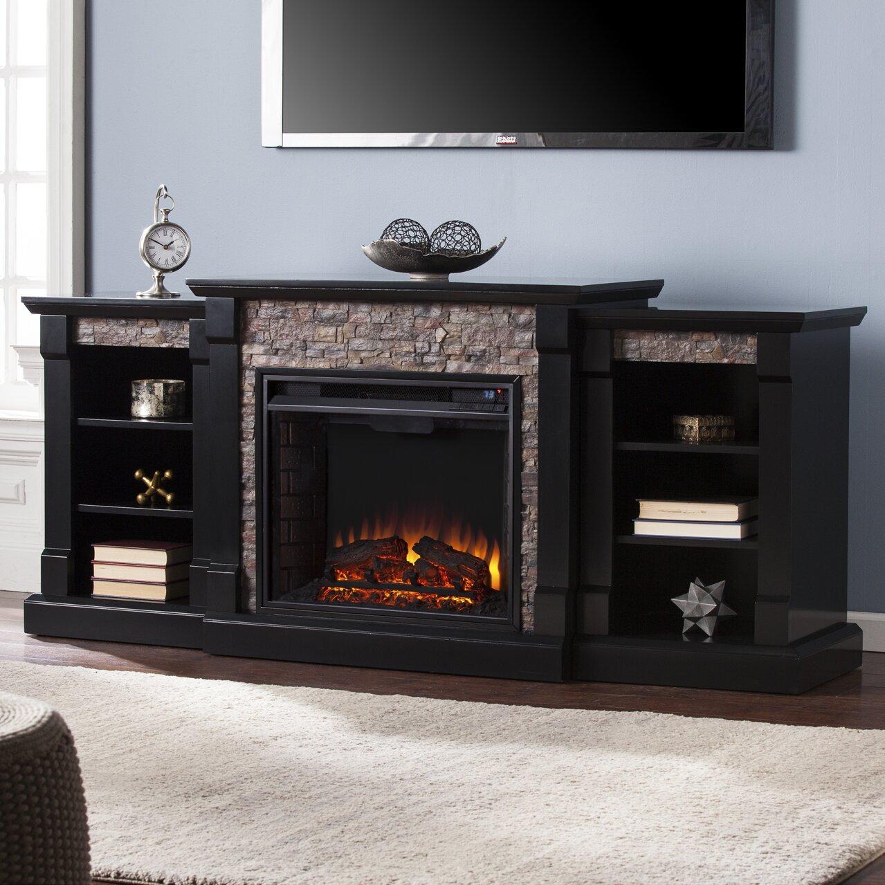 Breakwater Bay Corwin Electric Fireplace Amp Reviews Wayfair