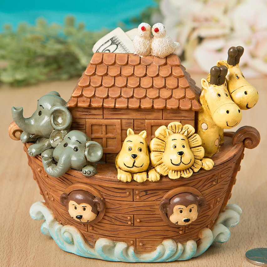 Fashioncraft Adorable Noah S Ark Piggy Bank Amp Reviews