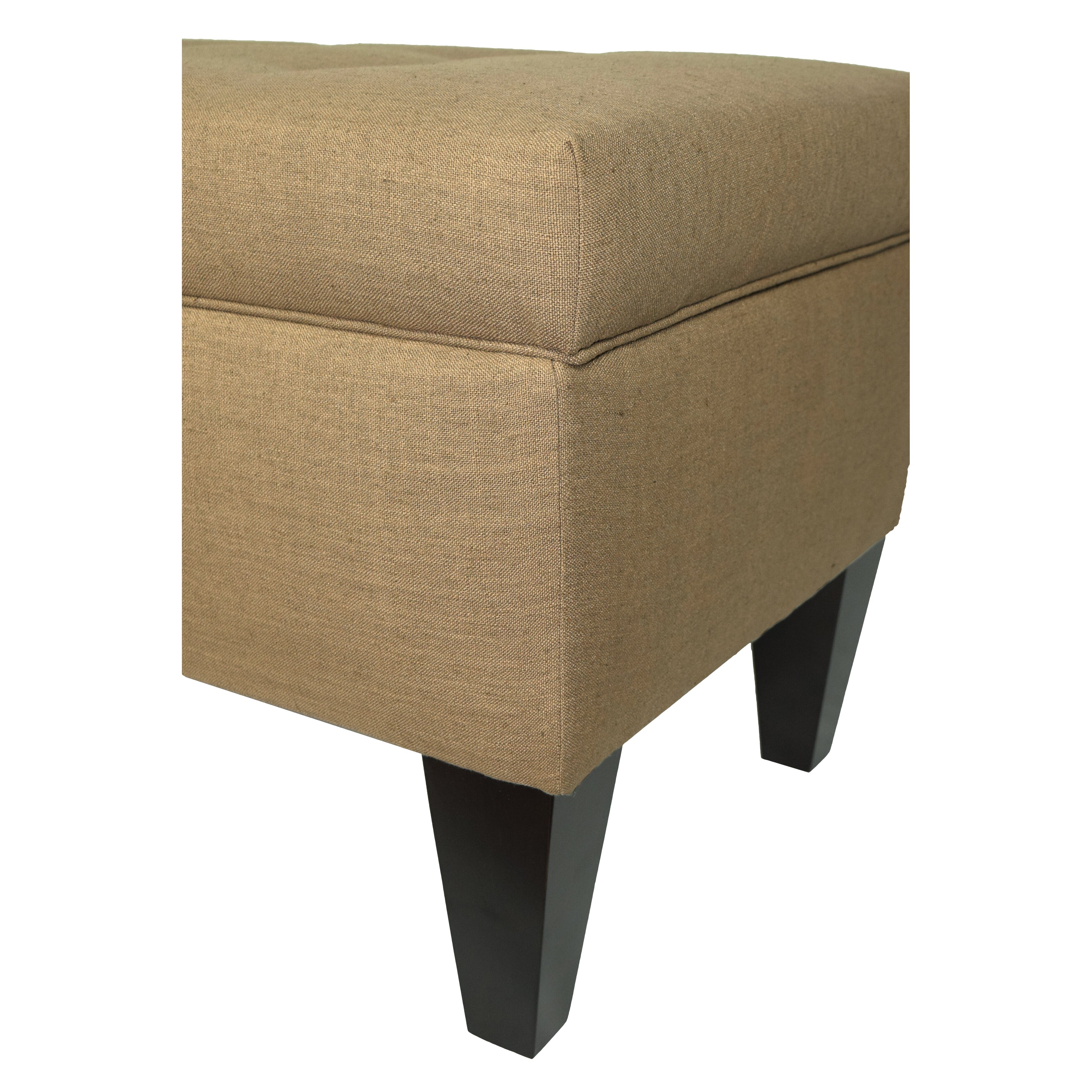 Marvelous photograph of MJLFurniture Allure Wood Storage Bedroom Bench Wayfair with #846B47 color and 3500x3500 pixels