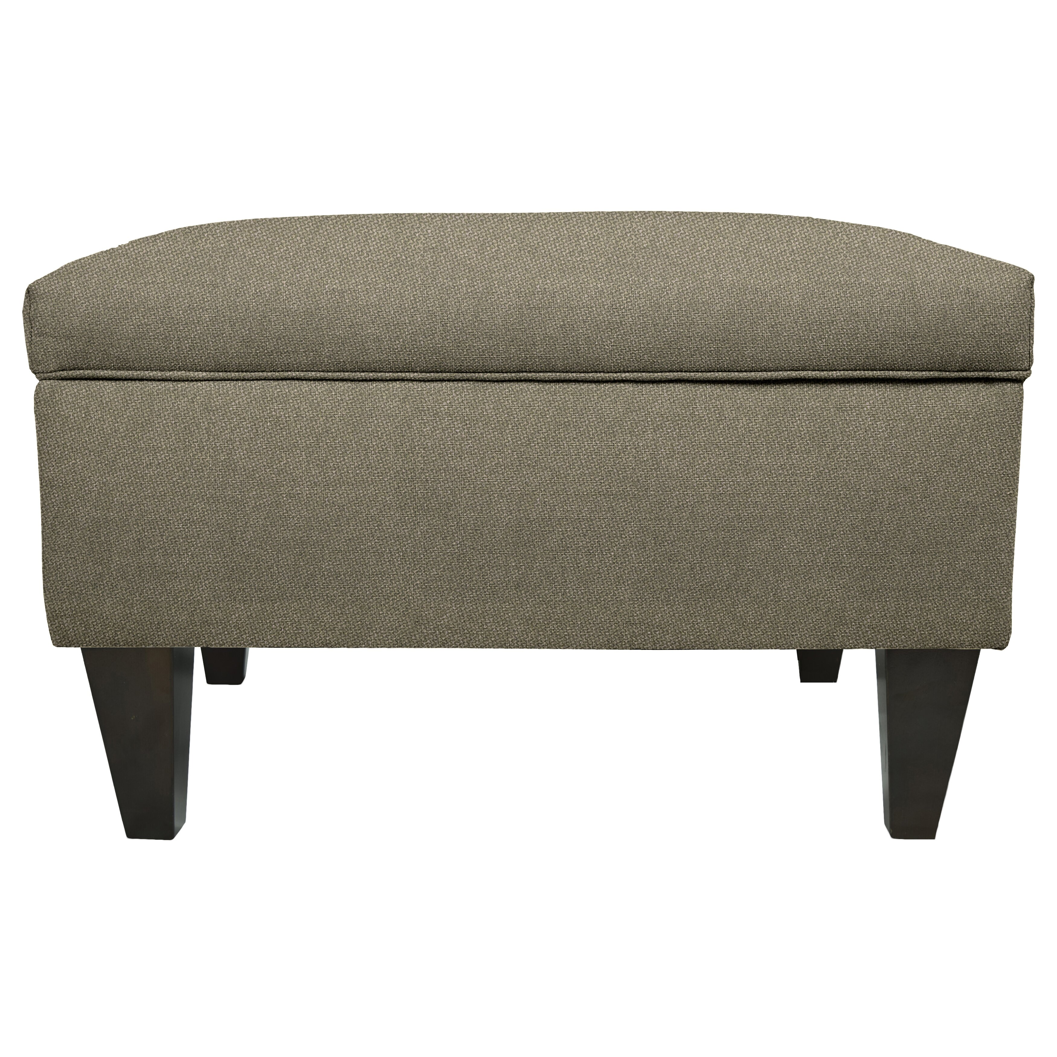 Mjlfurniture dawson legged box storage ottoman wayfair for Furniture box