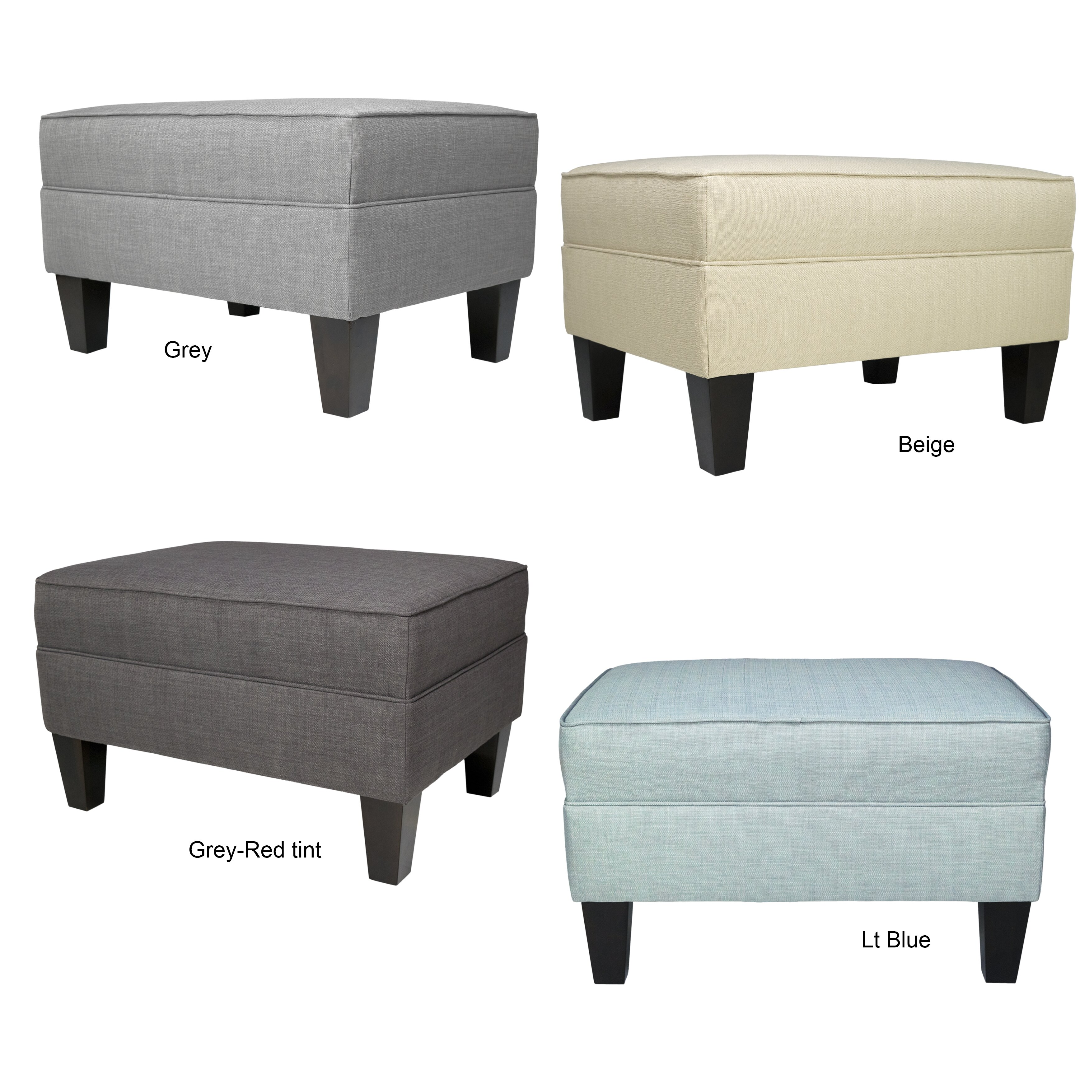 Mjlfurniture parker ottoman wayfair for Furniture 2 day shipping