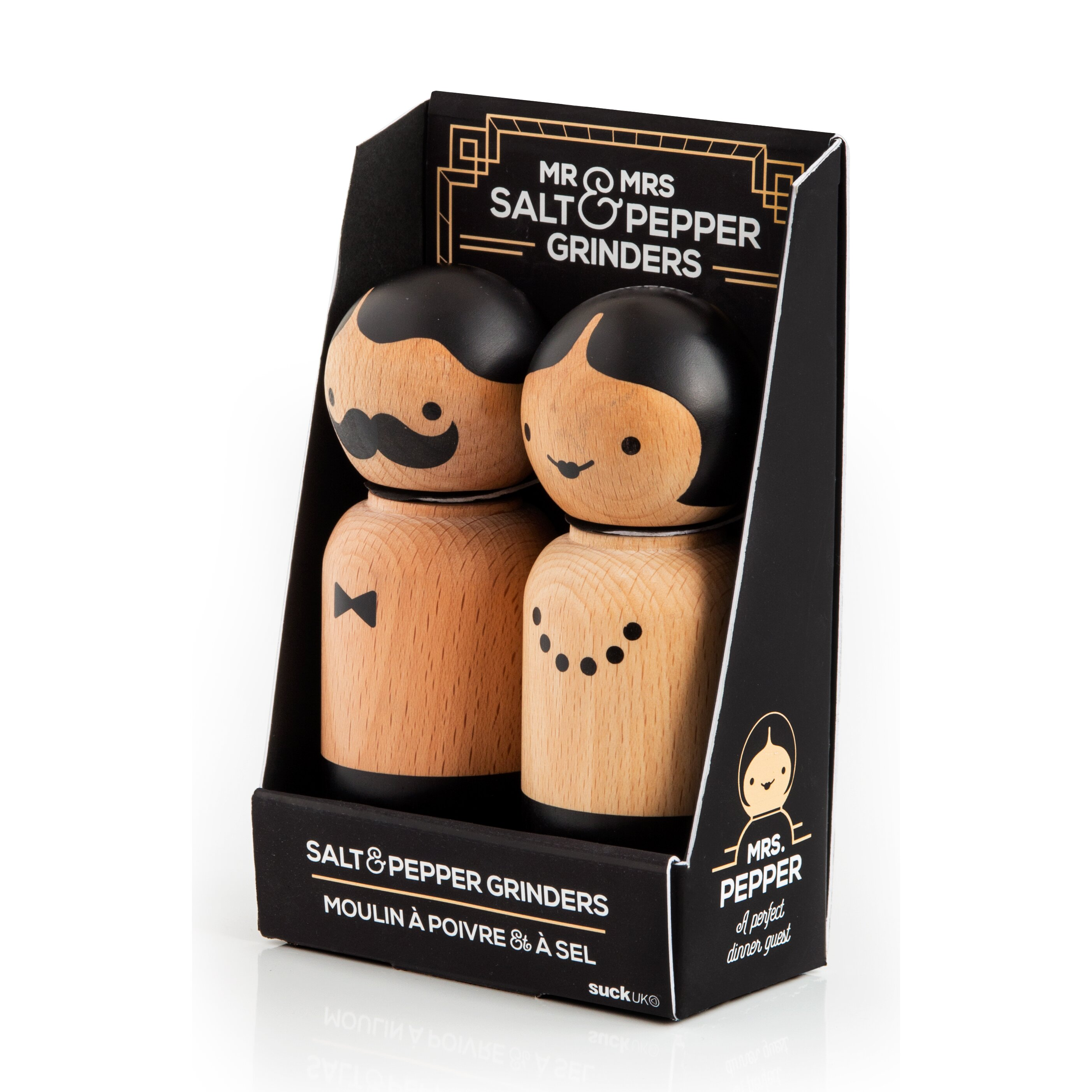 Suck UK Mr And Mrs Salt And Pepper Set Amp Reviews Wayfair