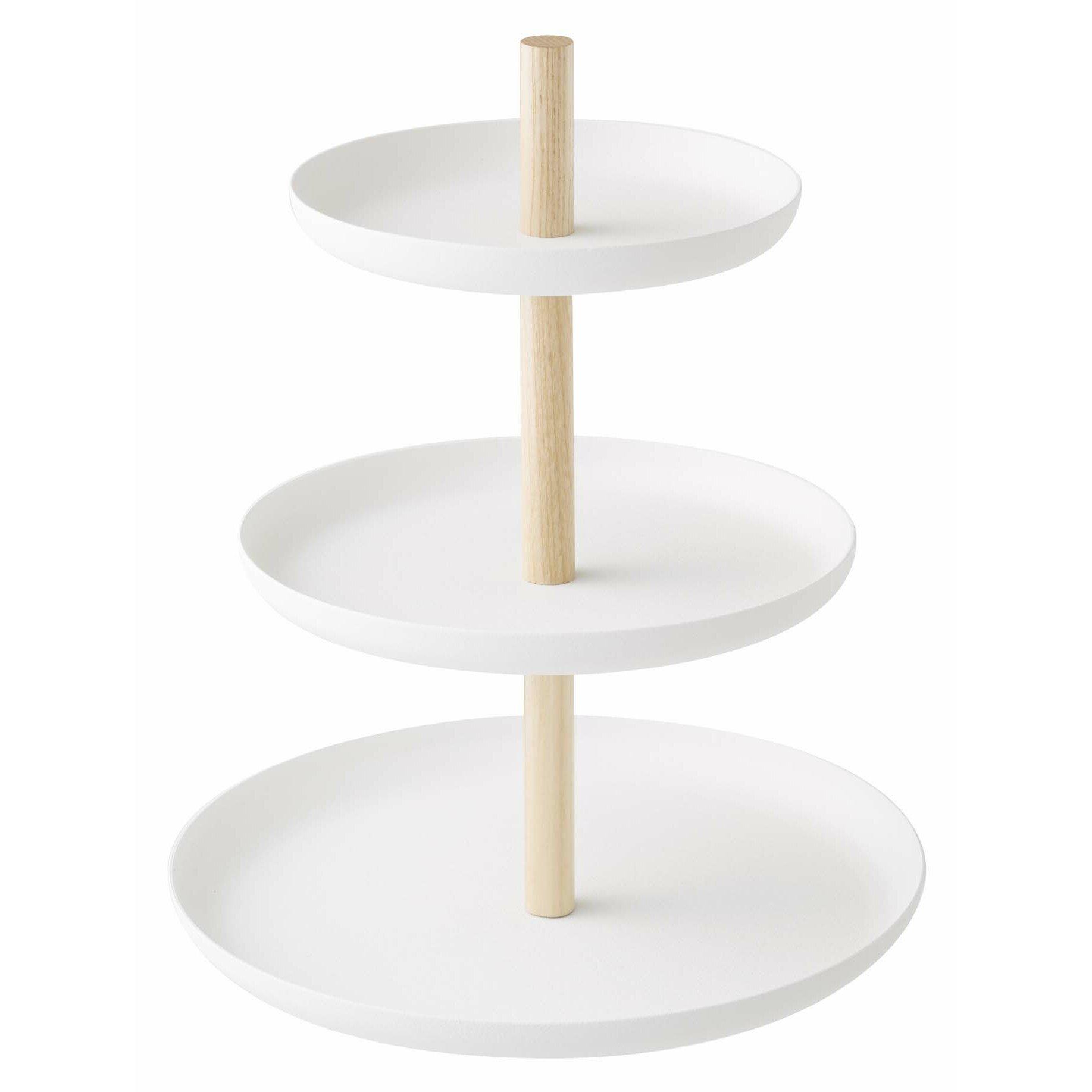 Yamazaki usa tosca 3 tiered cake stand reviews wayfair - Corbeille a fruits 3 etages ...