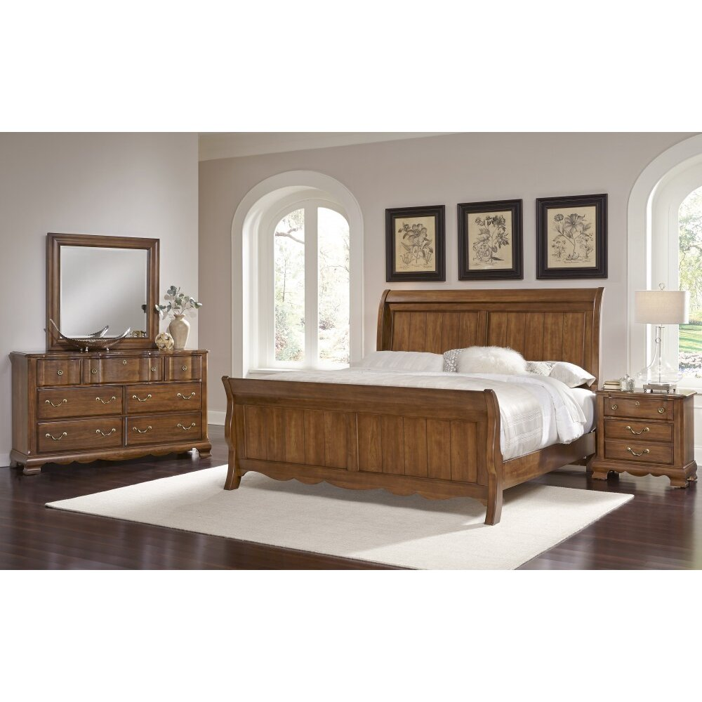 Virginia House Villa Sophia 7 Drawer Dresser With Mirror Wayfair