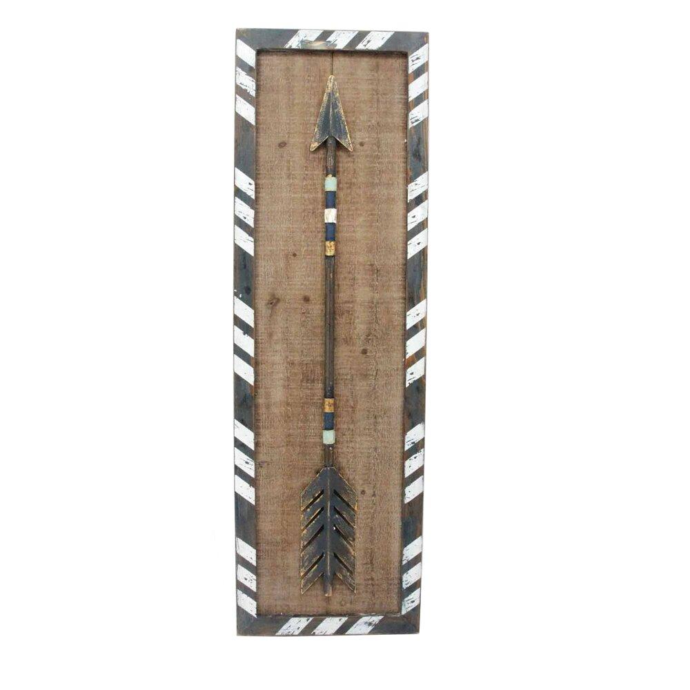 Arrows For Wall Decor : Sagebrookhome arrow wood wall d?cor wayfair