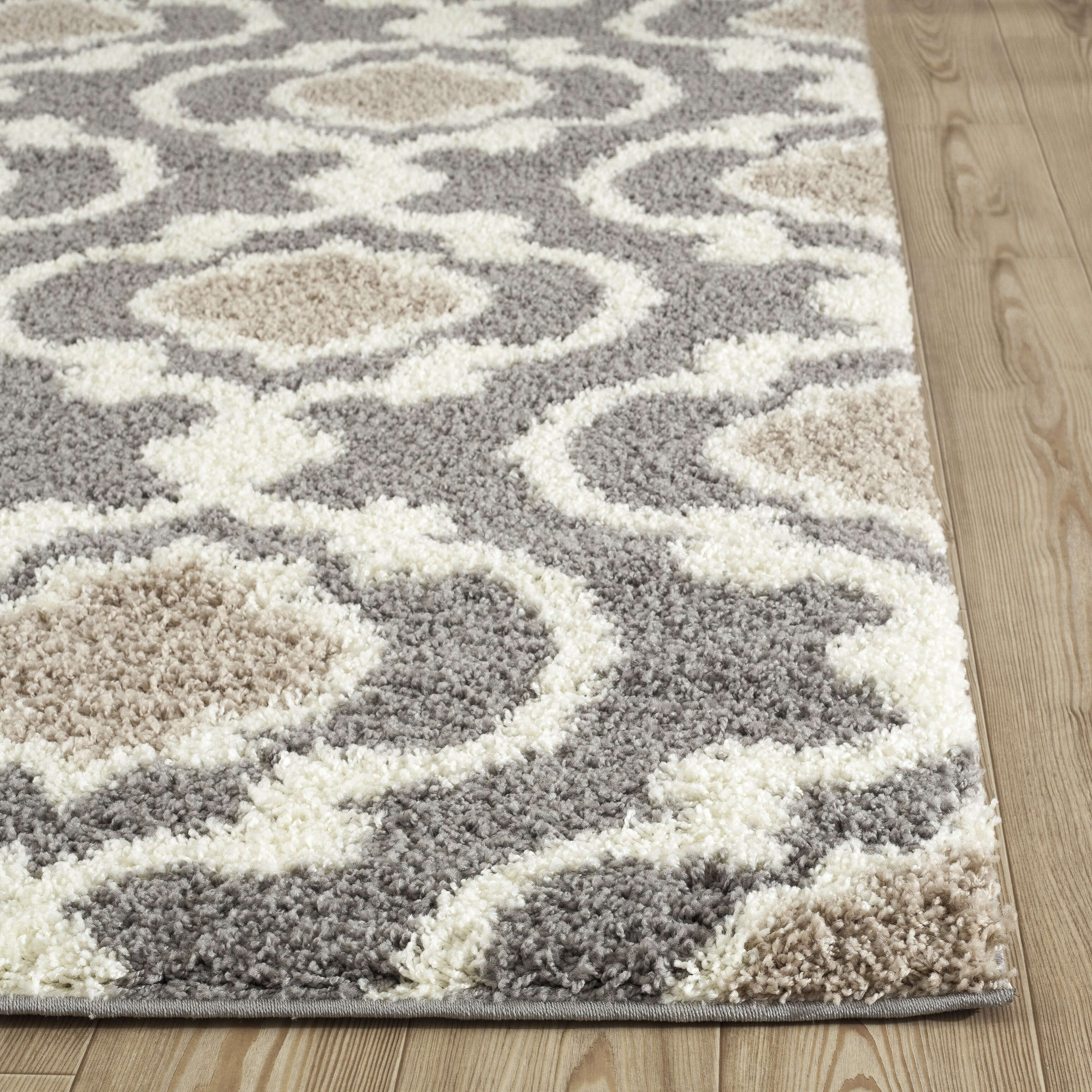 World Rug Gallery Florida Gray Cream Area Rug Amp Reviews