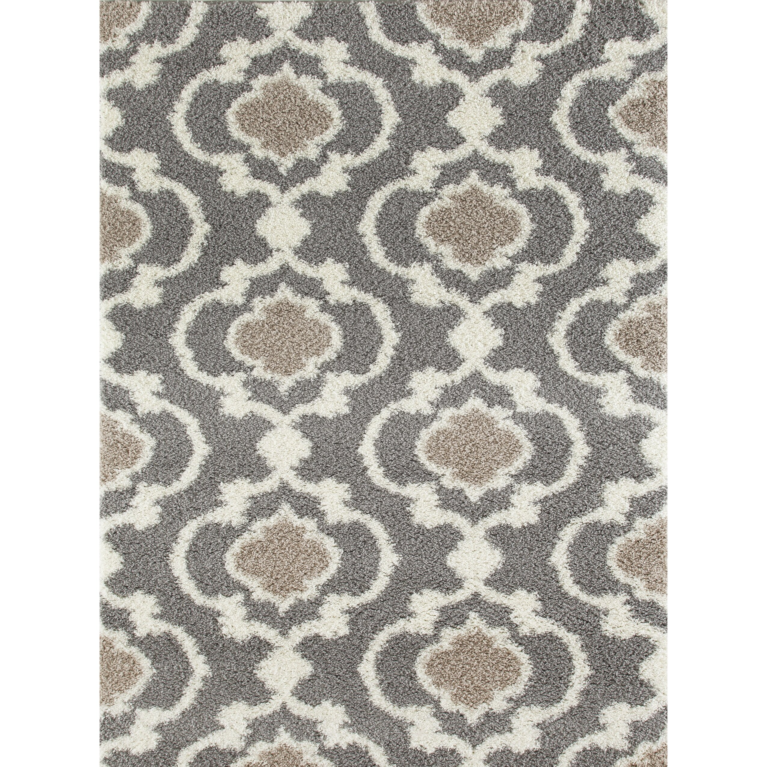 World Rug Gallery Florida Turquoise Area Rug Reviews: World Rug Gallery Florida Gray/Cream Area Rug & Reviews