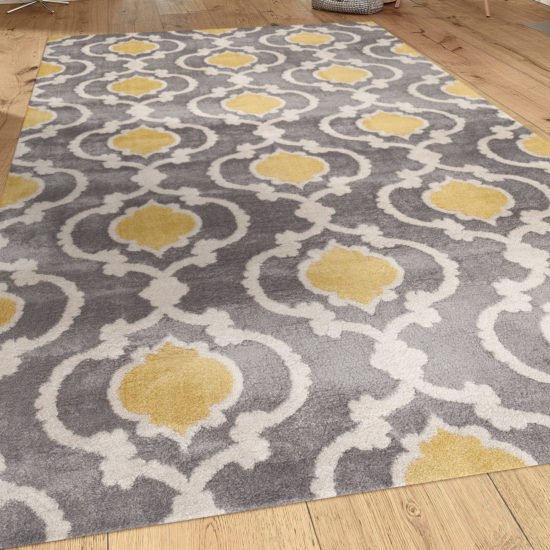 World Rug Gallery Toscana Gray Area Rug Amp Reviews Wayfair