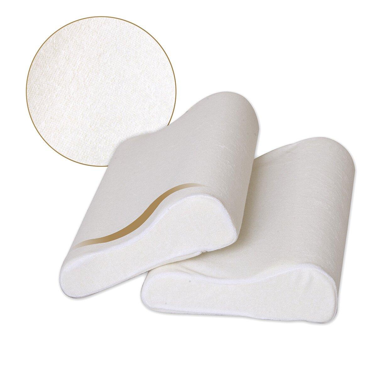 Dasein contour memory foam pillow wayfairca for Contour memory foam pillow