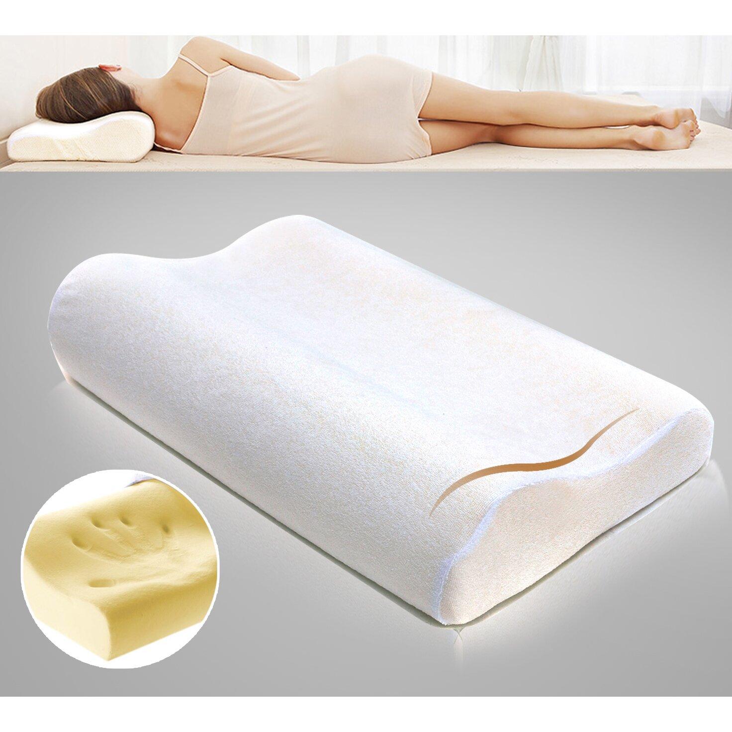 dasein contour memory foam pillow. Black Bedroom Furniture Sets. Home Design Ideas