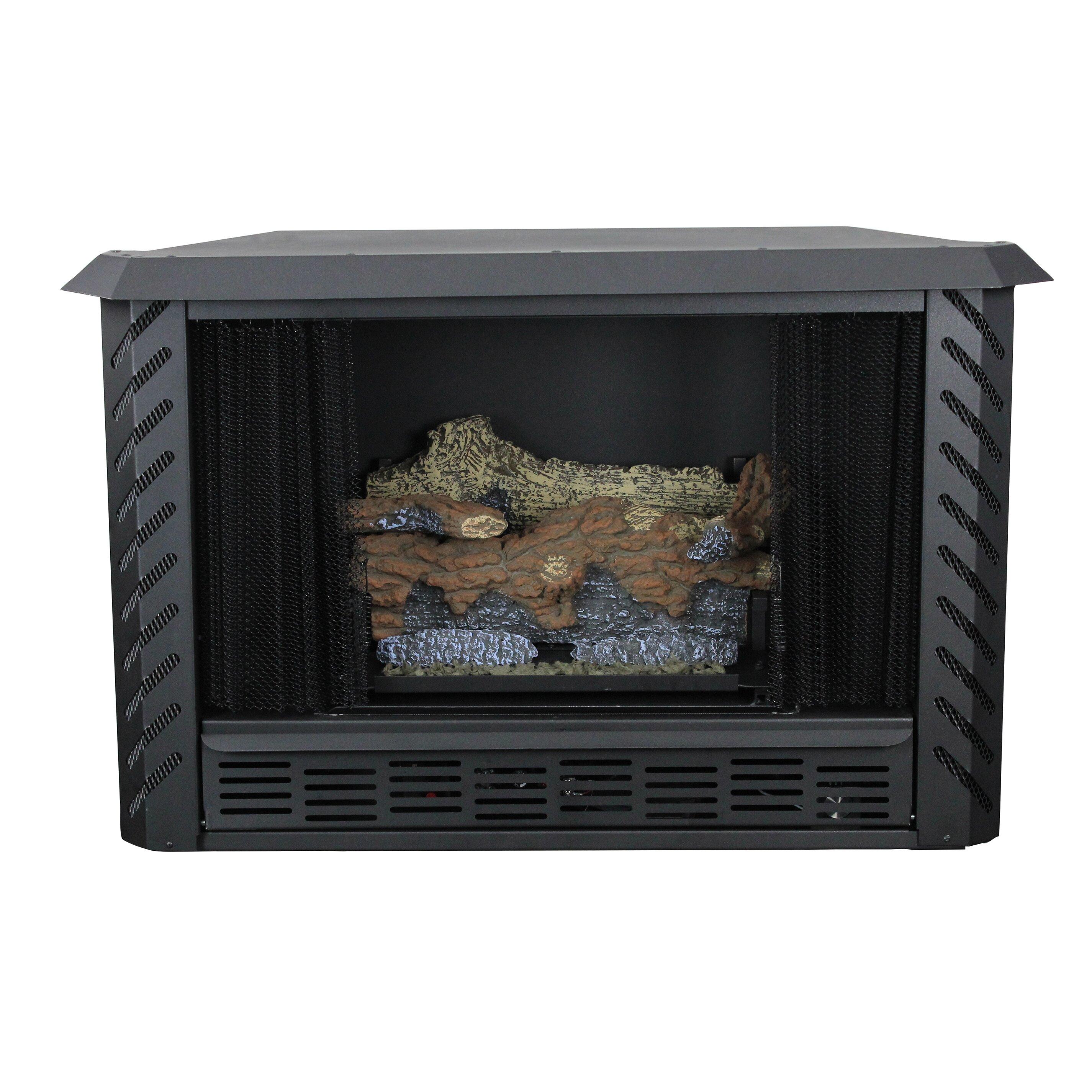Ashley Hearth Vent Free Propane Fireplace Wayfair