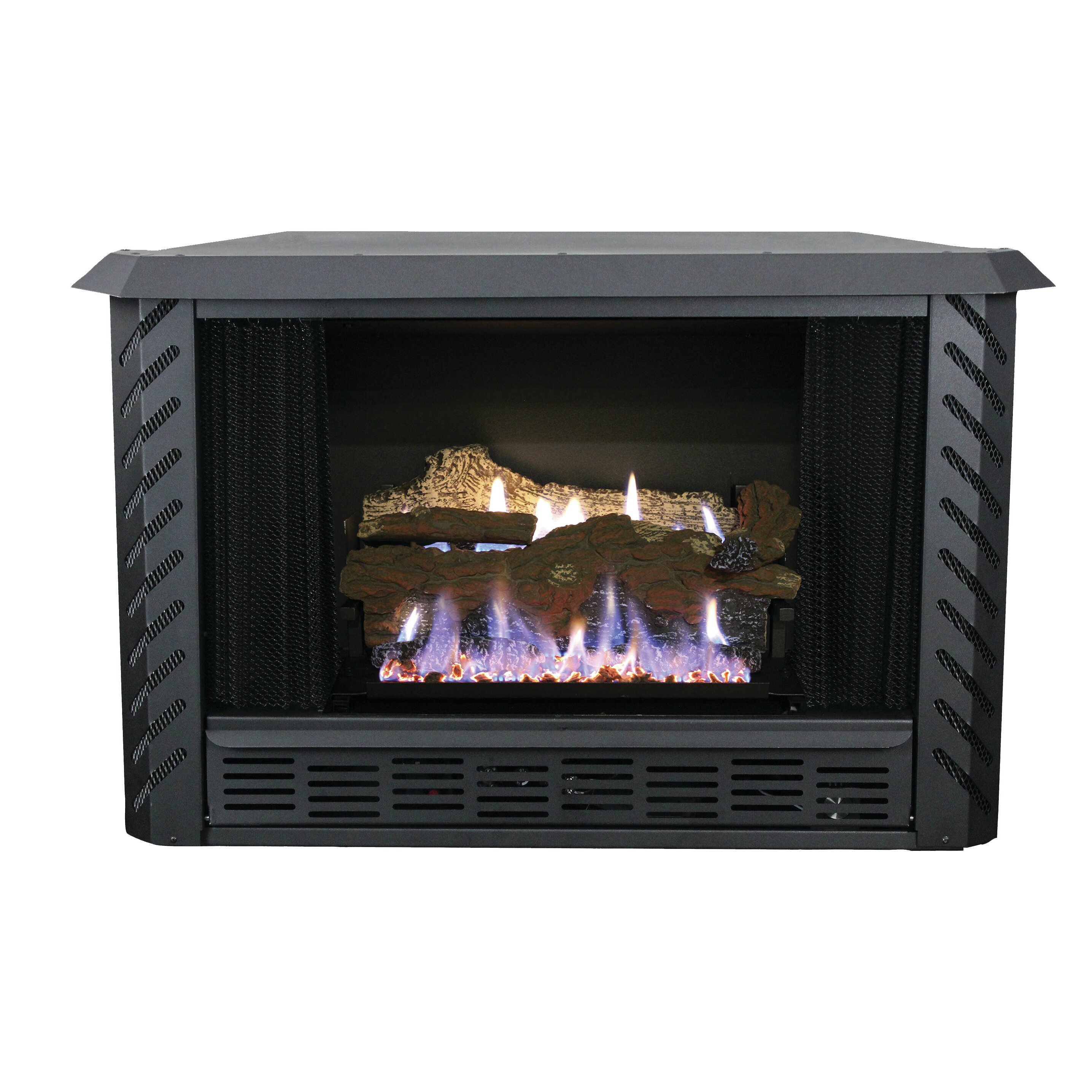 hearth vent free propane fireplace wayfair