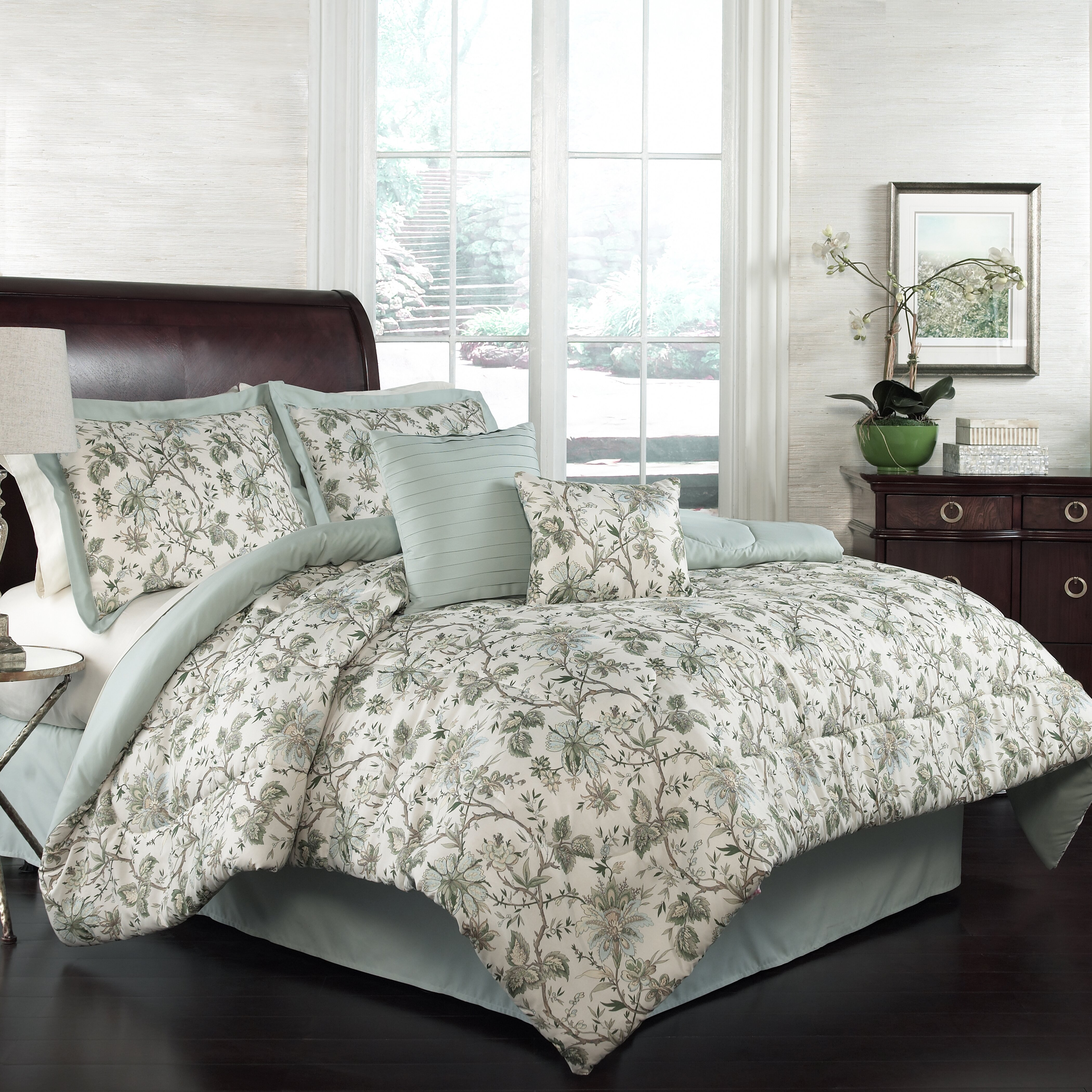 Traditions By Waverly Felicite 6 Piece Comforter Set