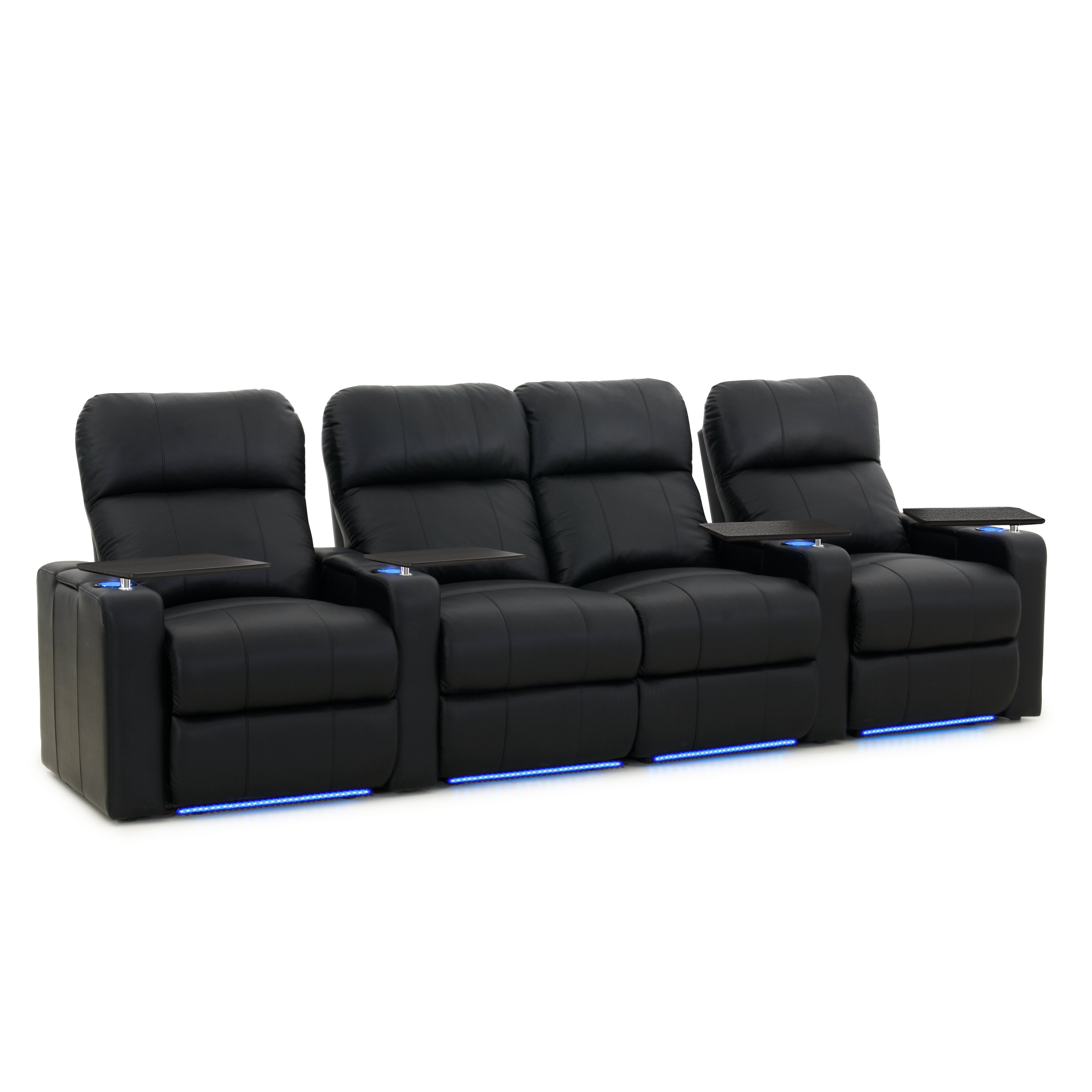 Octaneseating Turbo Xl700 Home Theater Loveseat Row Of 4 Reviews Wayfair