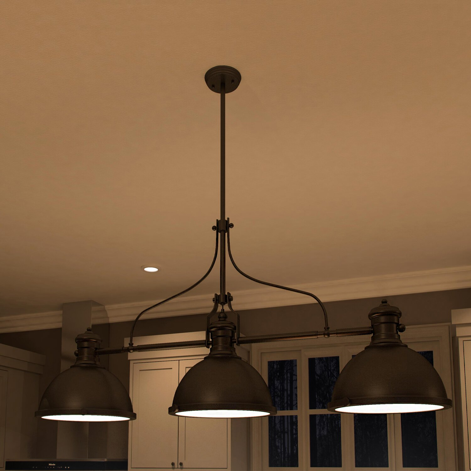 Wayfair Lights: VONNLighting Dorado 3 Light Kitchen Island Pendant