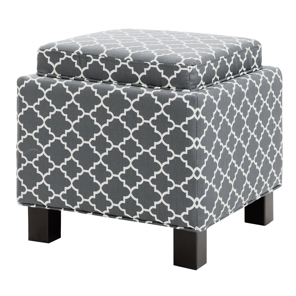Madison Park Shelley Square Storage Cube Ottoman Amp Reviews