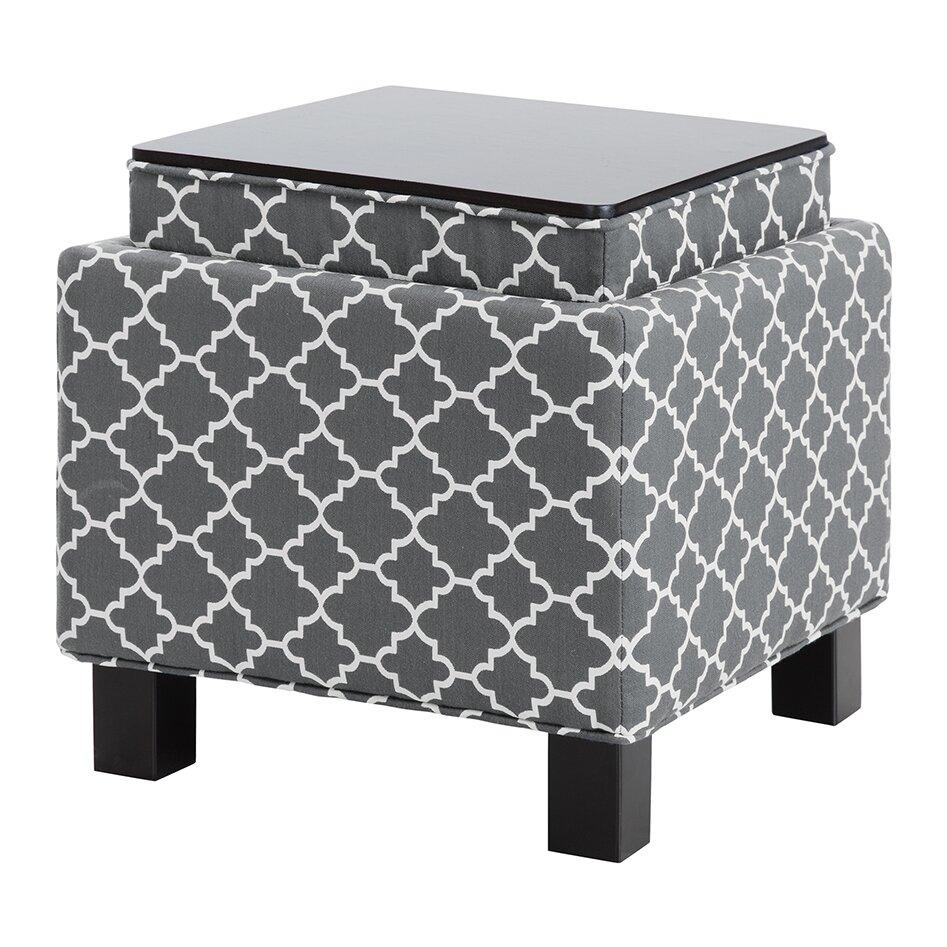 Madison Park Shelley Square Storage Cube Ottoman Amp Reviews