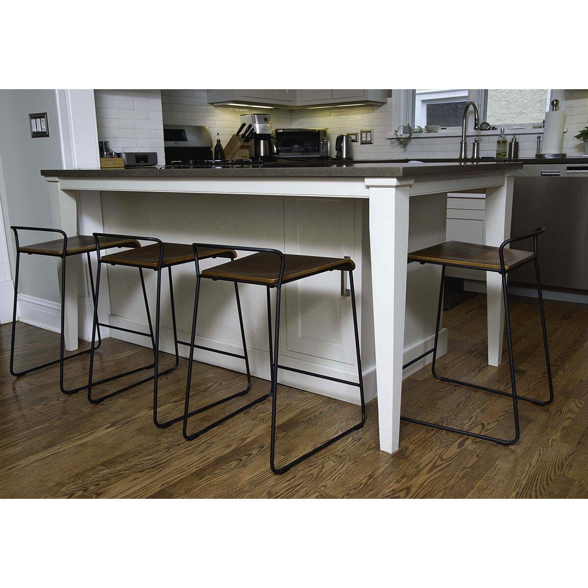 M a d furniture transit 24 bar stool reviews wayfair for Furniture 24