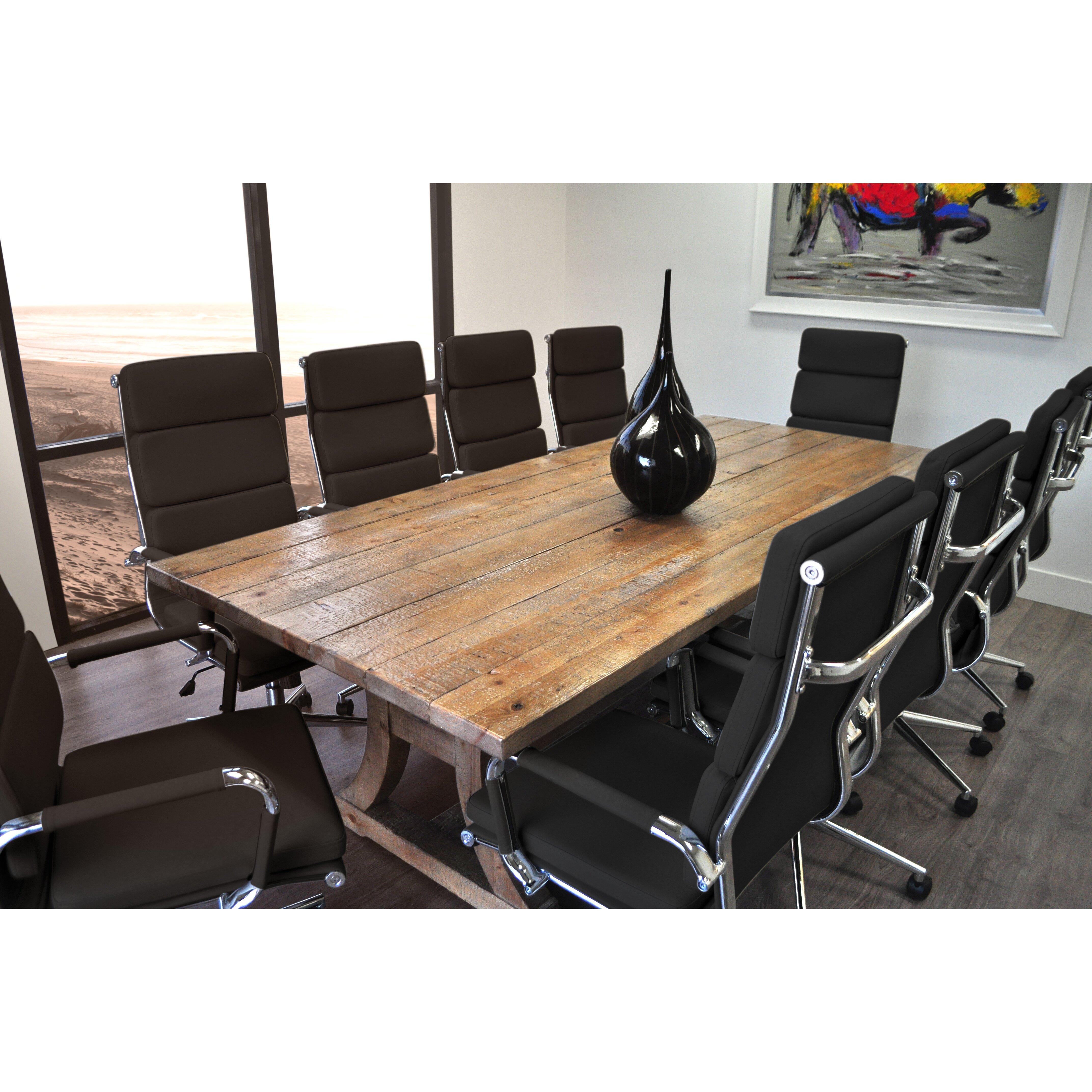 SolisPatio 11 Piece Ligna 8' Rectangular Conference Table Set & Reviews