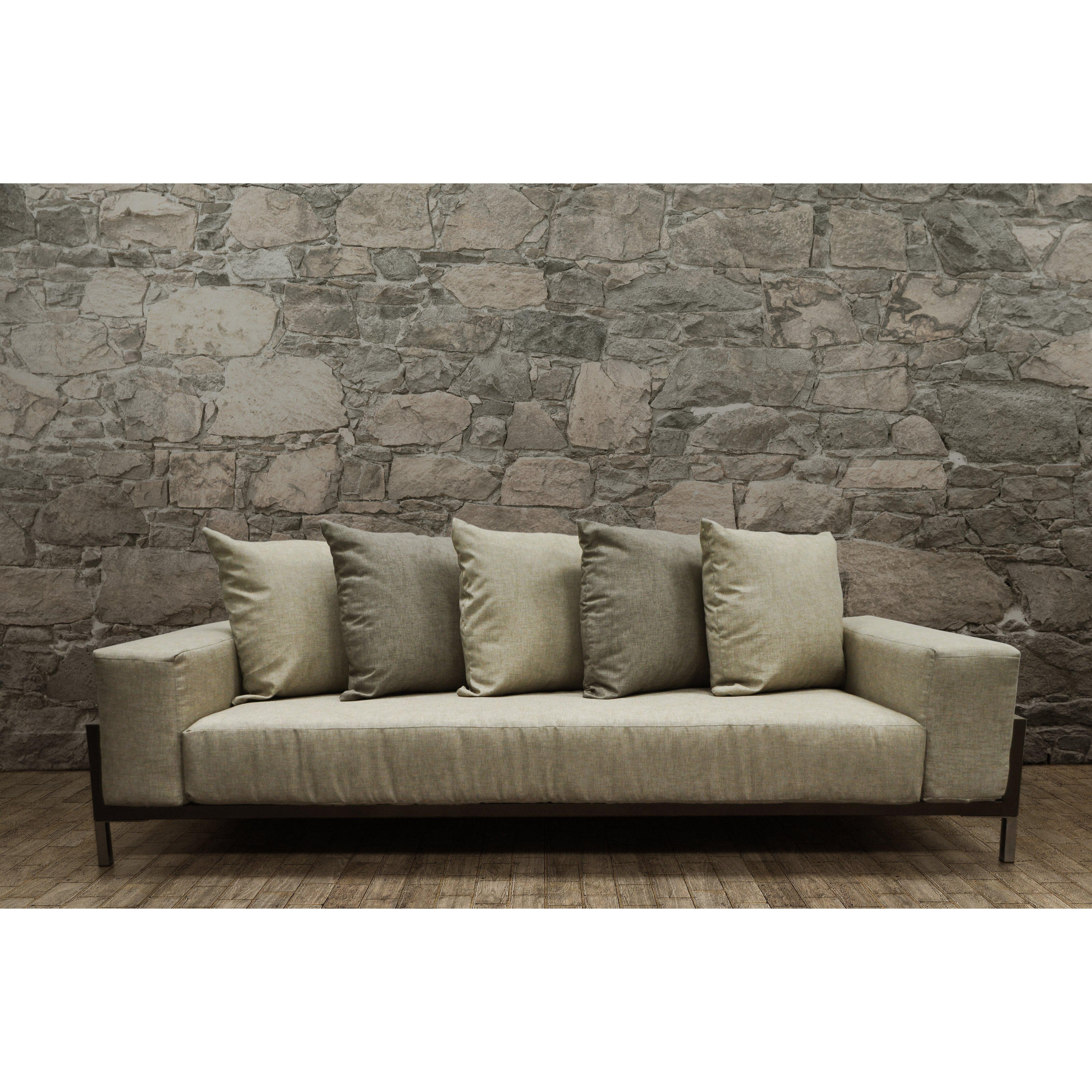 Solispatio Nubis Deep Seating Sofa With Cushions Wayfair