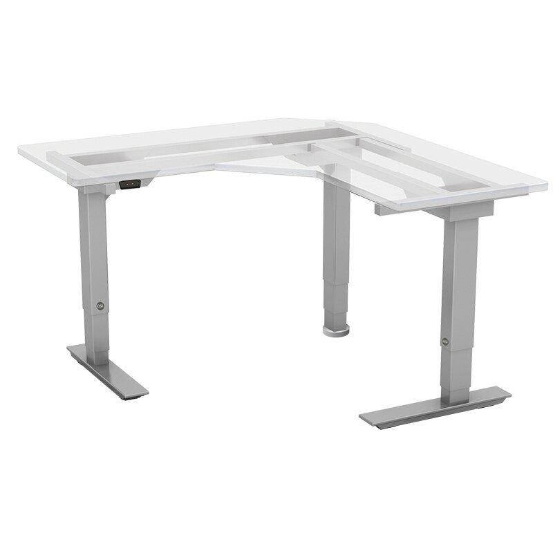 Esi ergonomic solutions victory electric standing desk for Motorized standing desk legs