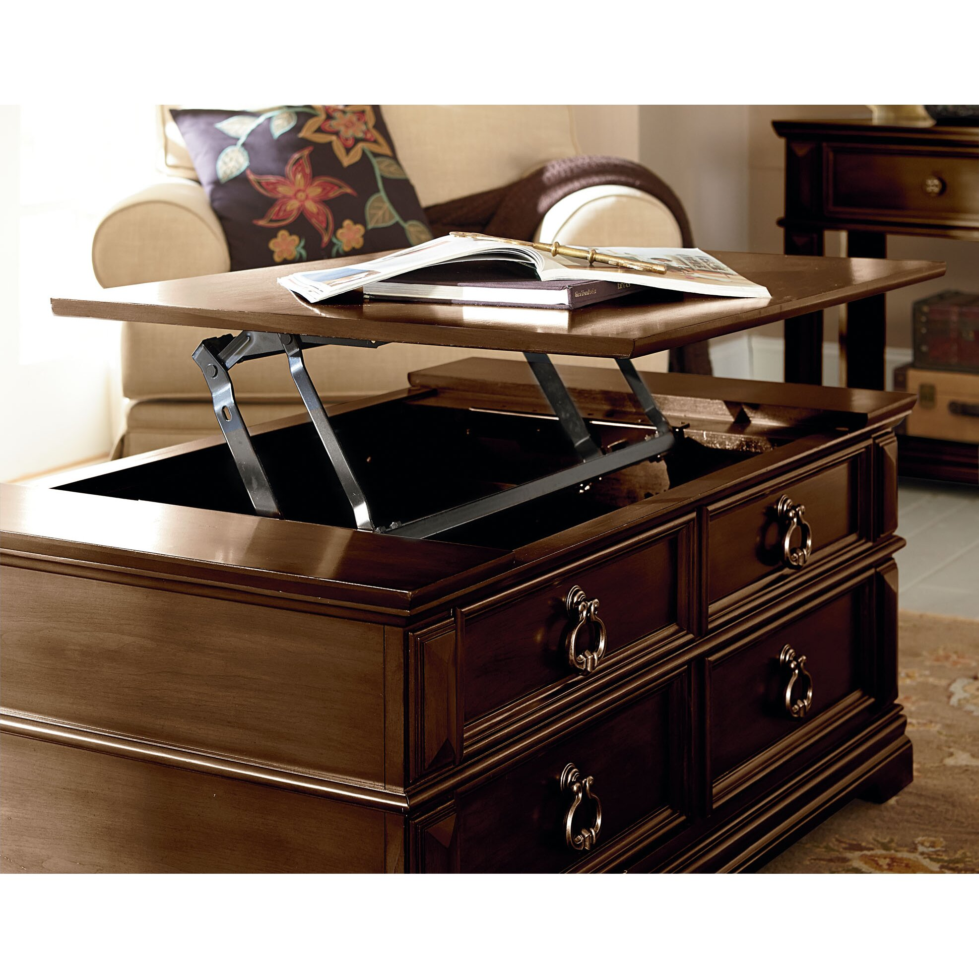 Rosalind Wheeler Marriott Coffee Table With Lift Top