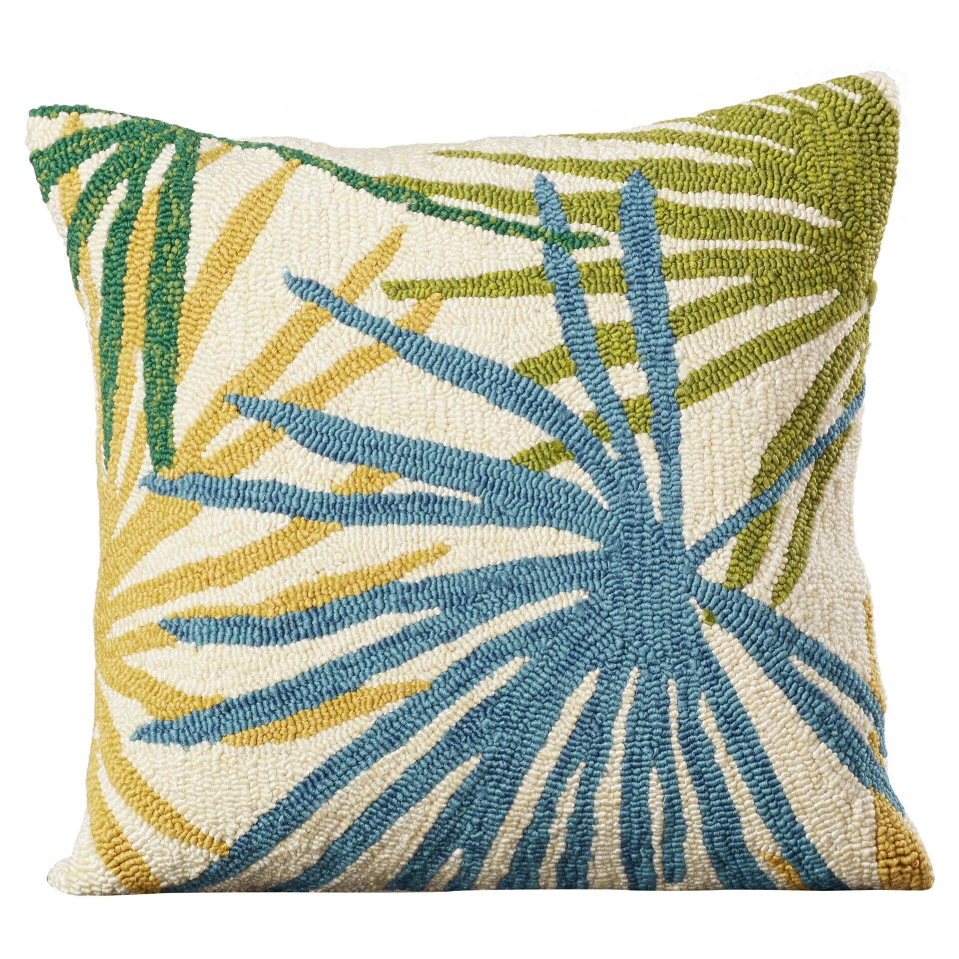 Bay Isle Home Bali Synthetic Throw Pillow & Reviews Wayfair