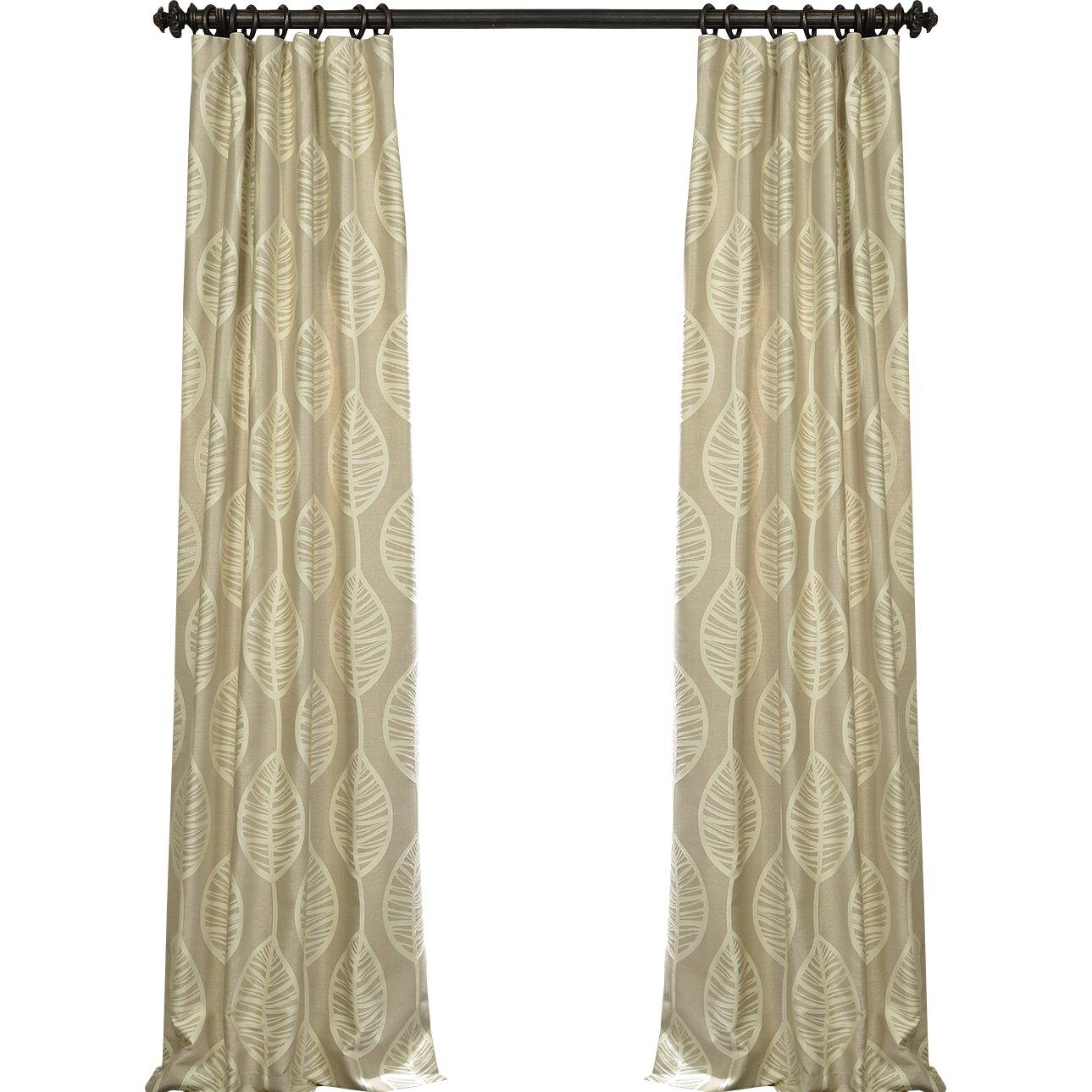 Bay Isle Home Eagle Thermal Single Curtain Panel & Reviews | Wayfair.ca