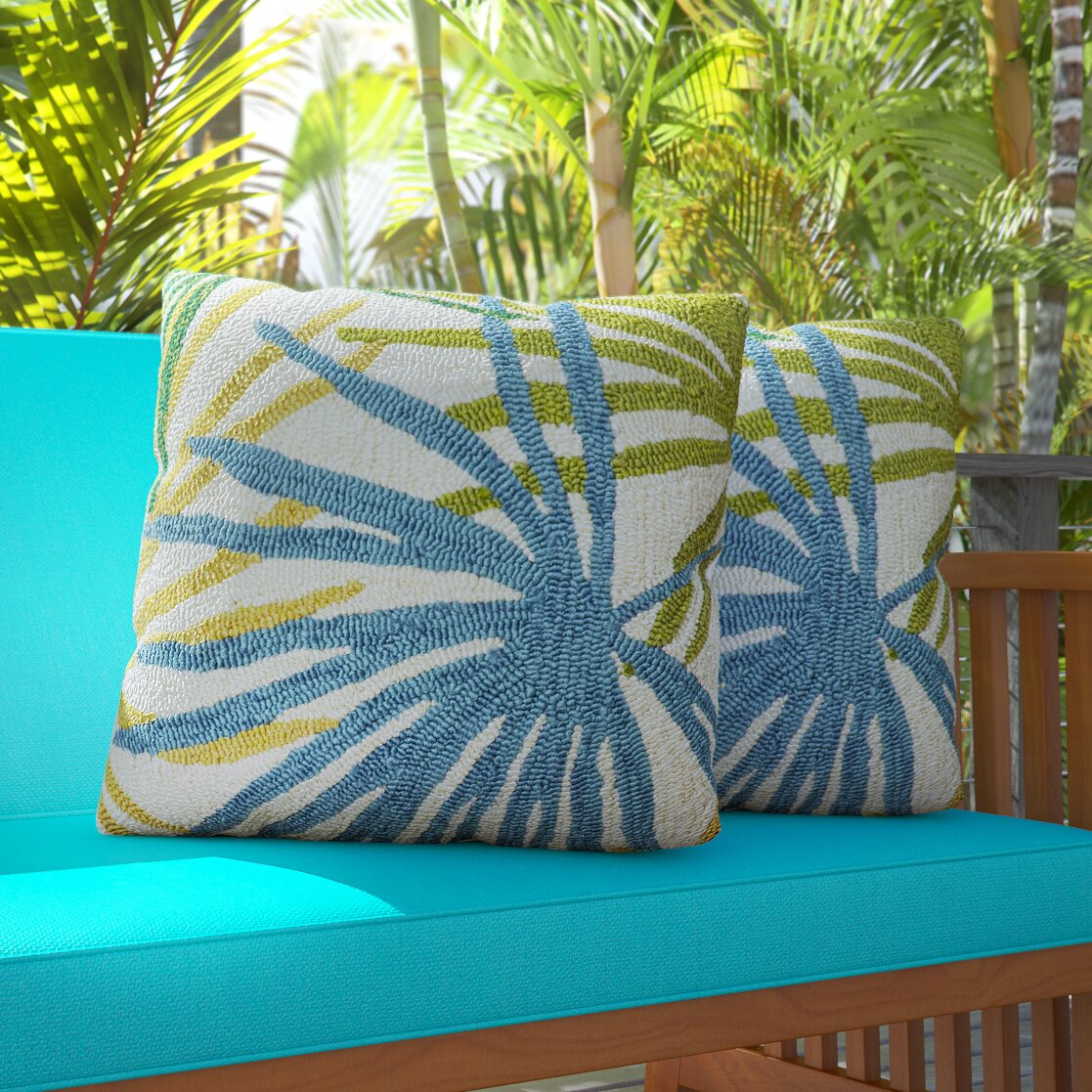 Bay Isle Home Bali Indoor/Outdoor Synthetic Throw Pillow & Reviews Wayfair.ca