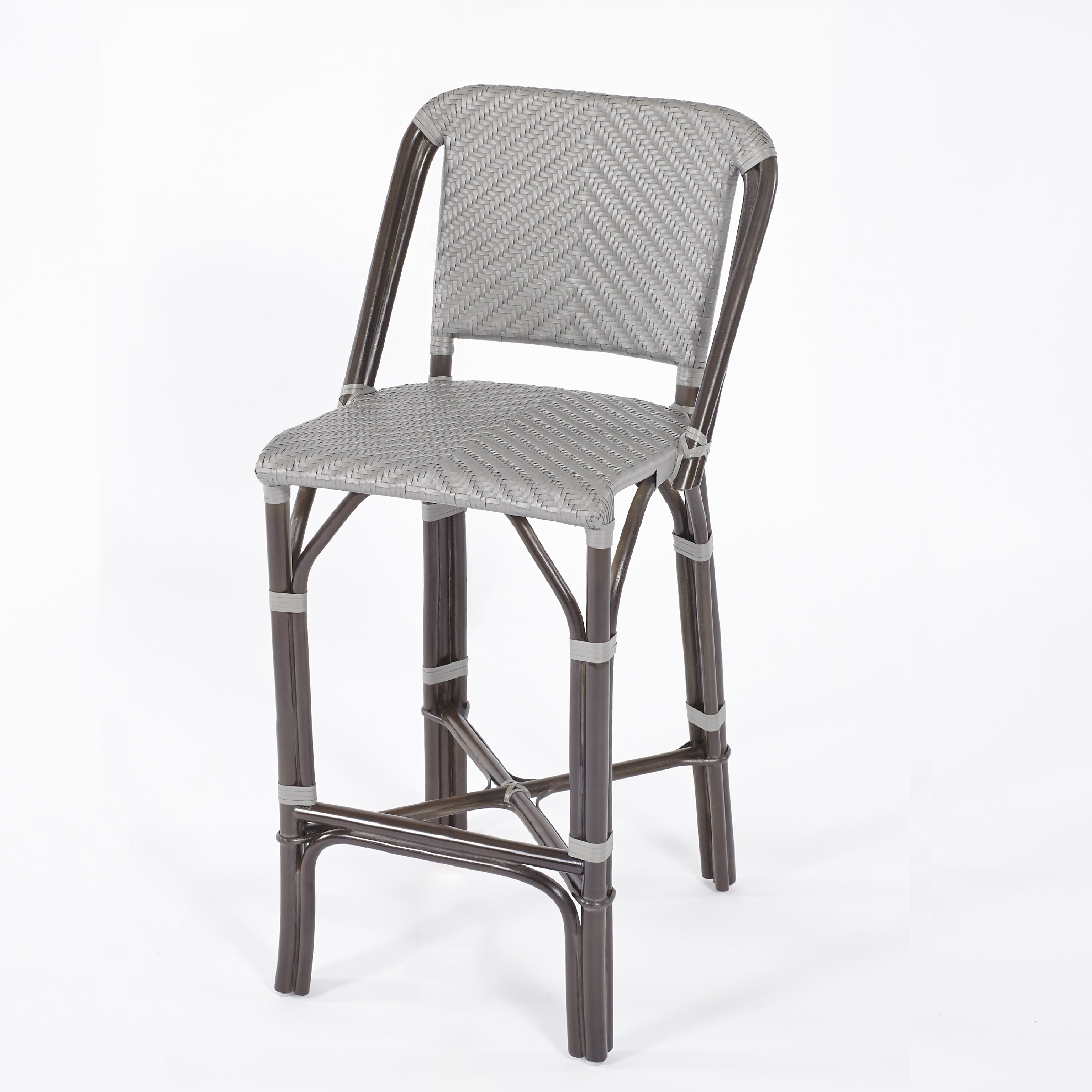 Bay Isle Home Barre Rattan Bar Stool Wayfair