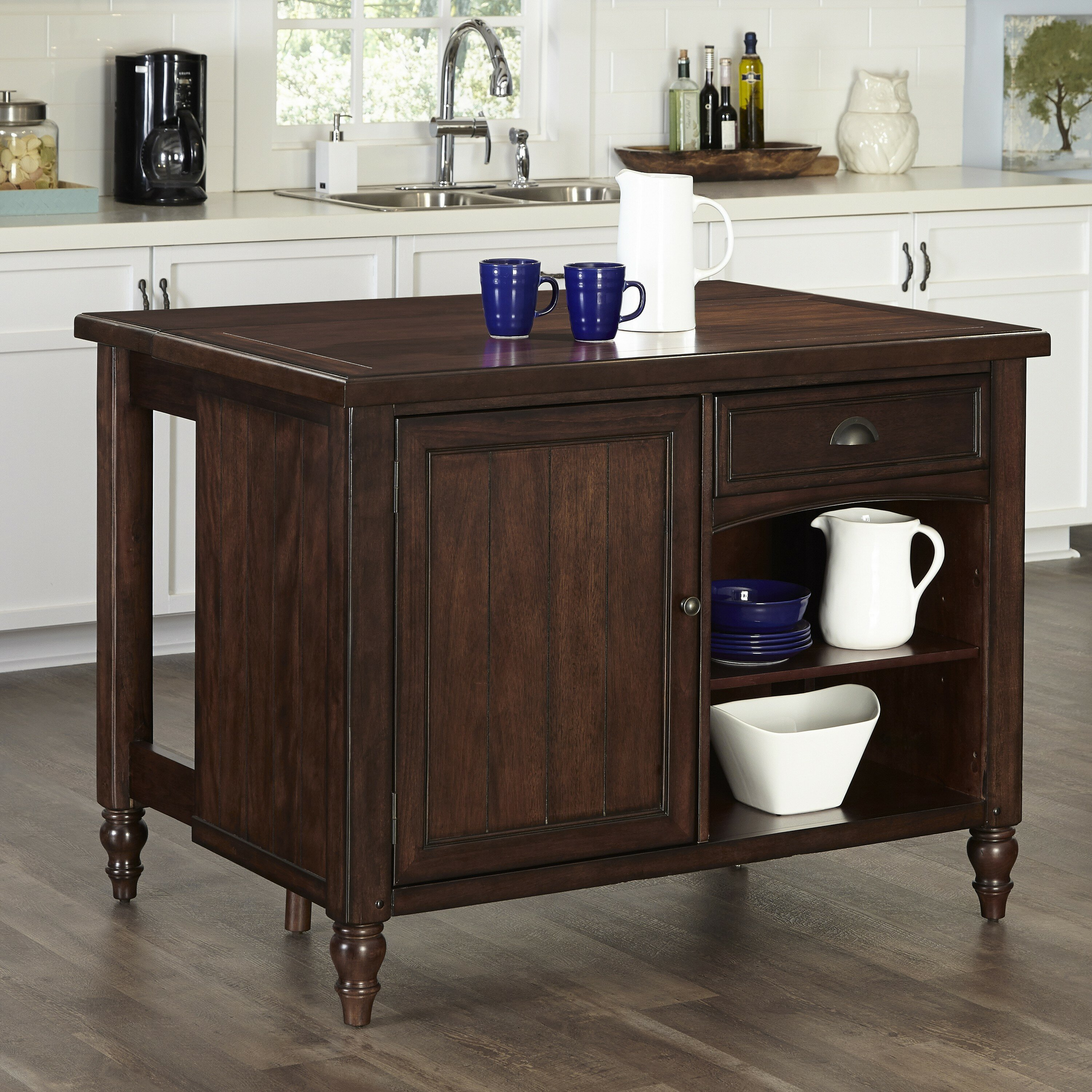Kitchen Island Furniture: Bay Isle Home Canouan Kitchen Island & Reviews