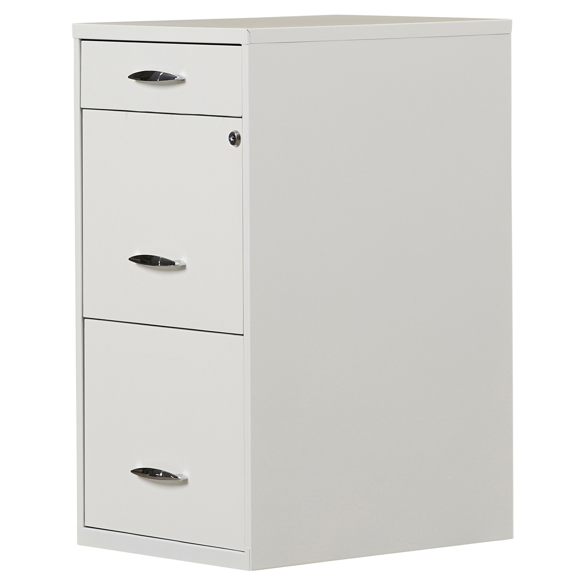 3 drawer metal file cabinet symple stuff steel 3 drawer filing cabinet amp reviews wayfair 10167