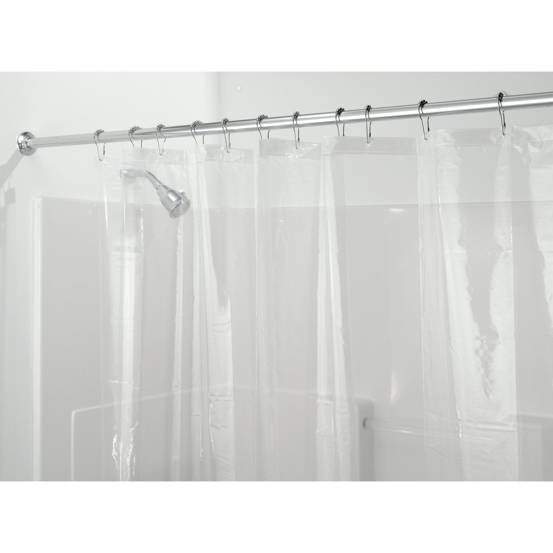 Symple Stuff Peva Stall Shower Curtain Liner Reviews Wayfair