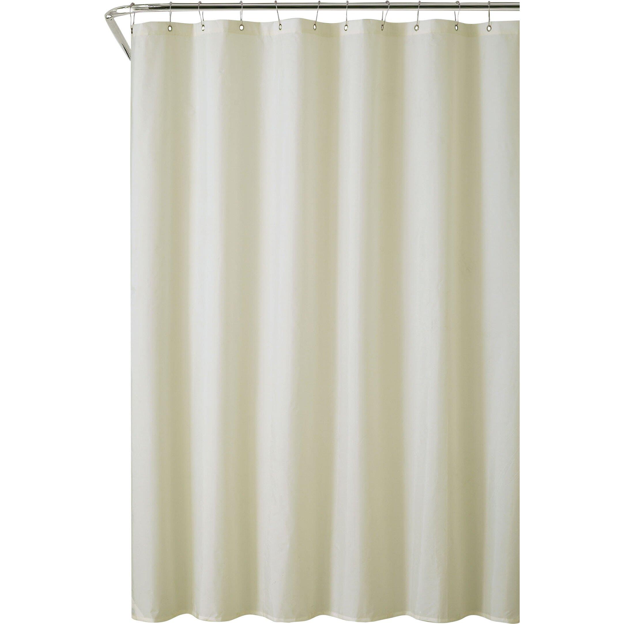 Symple Stuff Vinyl Water Proof Shower Curtain Liner Reviews Wayfair