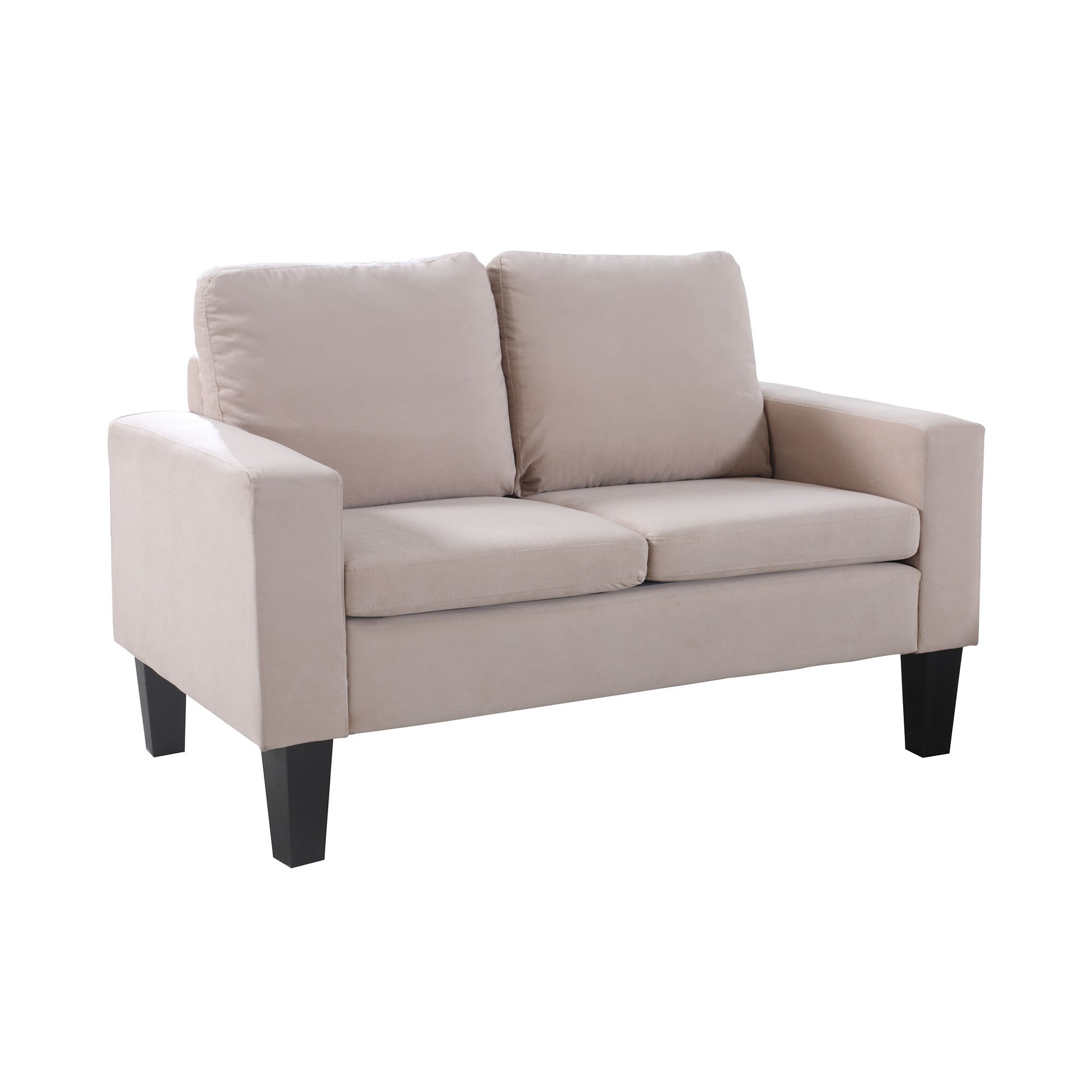 Nathanielhome Sarah Loveseat Reviews Wayfair