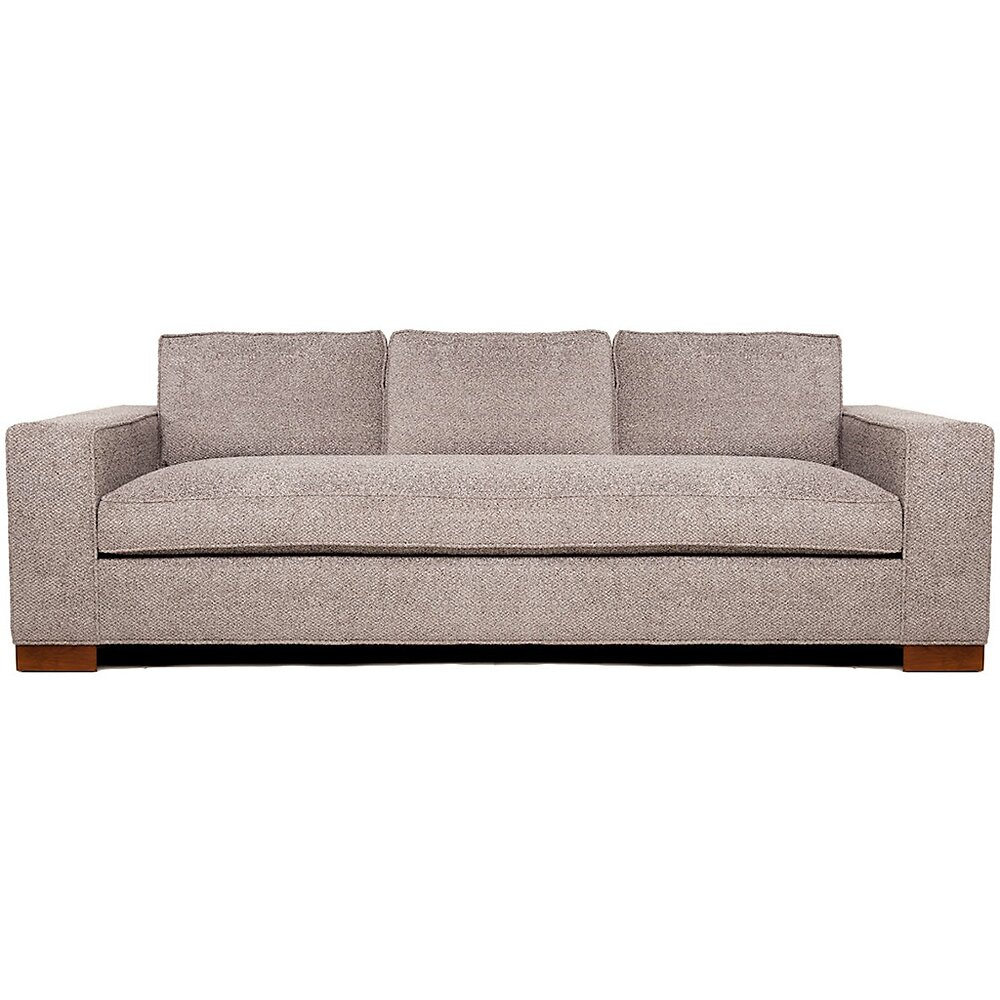 Jaxon devata deep seated sofa wayfair for Divan furniture